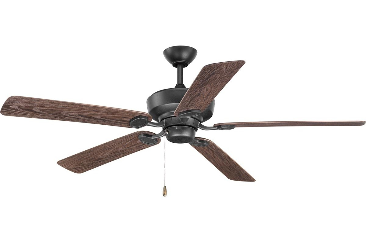 """60"""" Pennington 5 Blade Ceiling Fan With Fashionable Cerro 5 Blade Ceiling Fans (View 5 of 20)"""