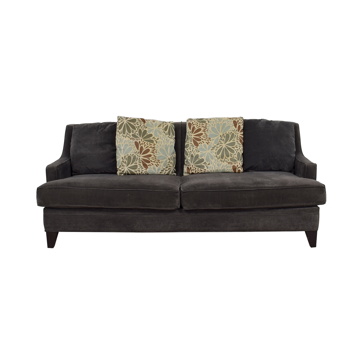 [%76% Off – Jordan's Furniture Jordan's Furniture Grey Microfiber Two Cushion  Sofa / Sofas In Well Known Bryant Loveseats With Cushion|Bryant Loveseats With Cushion Throughout Widely Used 76% Off – Jordan's Furniture Jordan's Furniture Grey Microfiber Two Cushion  Sofa / Sofas|Best And Newest Bryant Loveseats With Cushion Intended For 76% Off – Jordan's Furniture Jordan's Furniture Grey Microfiber Two Cushion  Sofa / Sofas|Trendy 76% Off – Jordan's Furniture Jordan's Furniture Grey Microfiber Two Cushion  Sofa / Sofas For Bryant Loveseats With Cushion%] (View 1 of 20)
