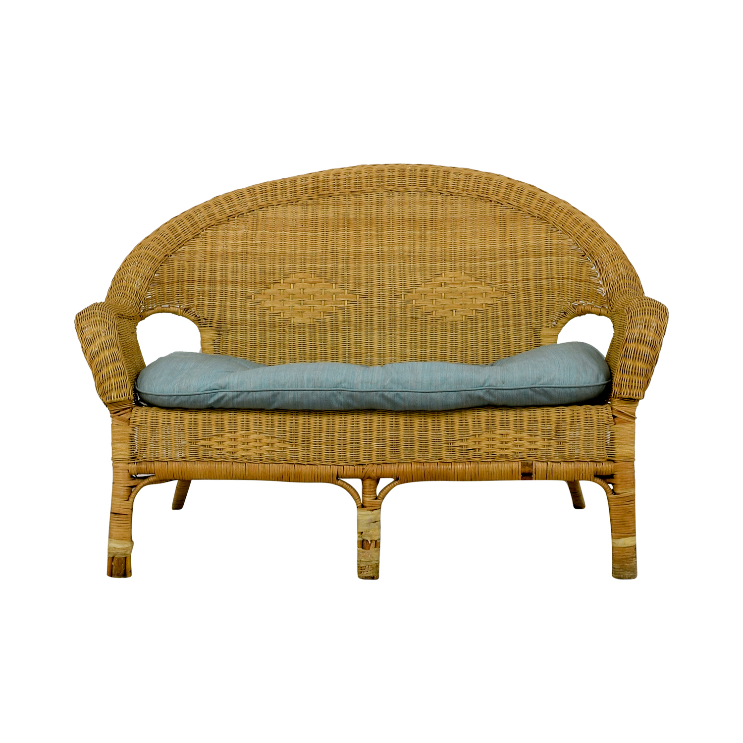 [%90% Off – Wicker Loveseat / Sofas Regarding Most Recently Released Wicker Loveseats|Wicker Loveseats For Well Known 90% Off – Wicker Loveseat / Sofas|Trendy Wicker Loveseats In 90% Off – Wicker Loveseat / Sofas|Widely Used 90% Off – Wicker Loveseat / Sofas With Wicker Loveseats%] (View 15 of 20)