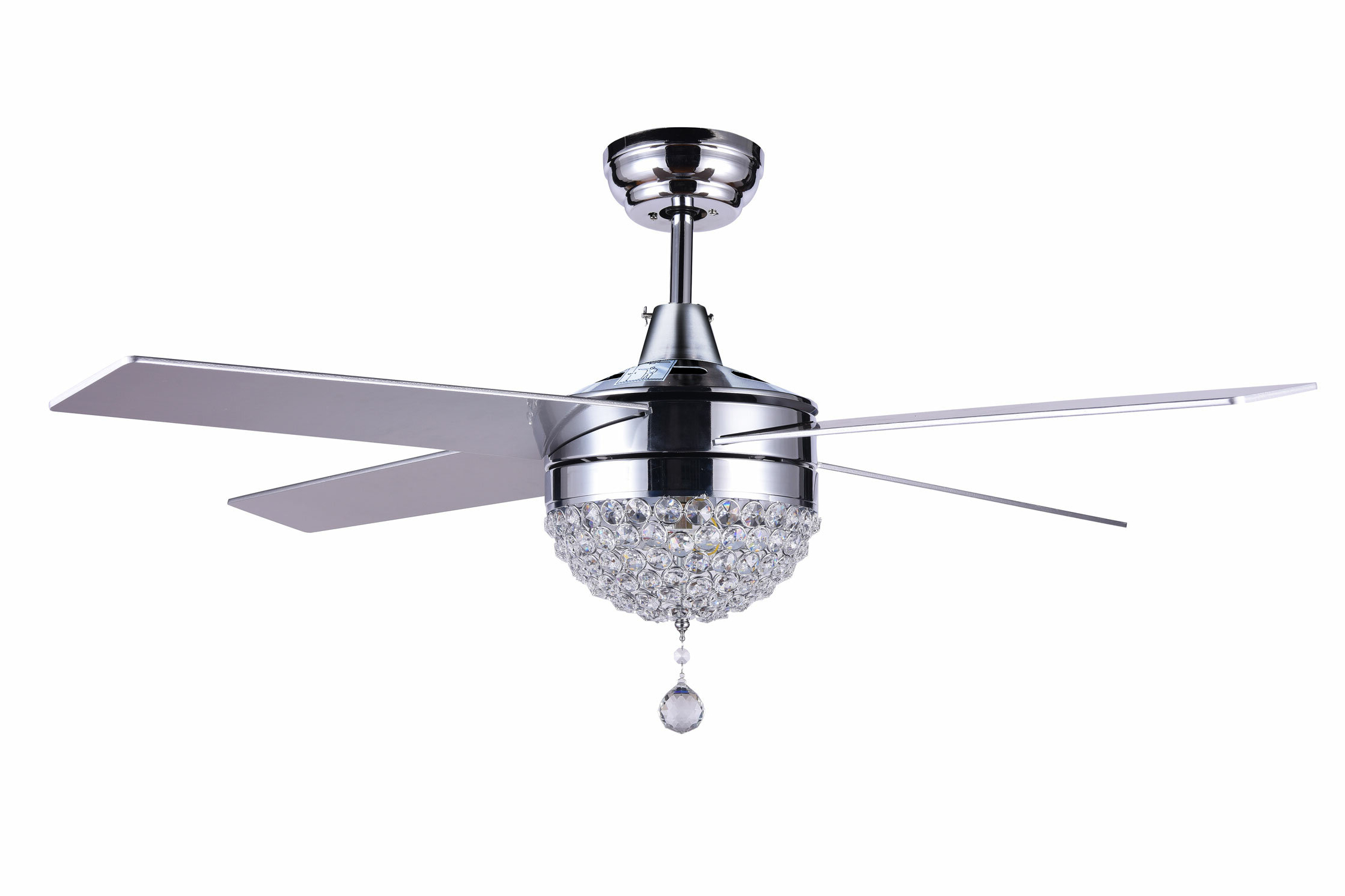 Aalin 4 Blade Led Ceiling Fan With Remote, Light Kit Included Inside 2019 Cason 4 Blade Ceiling Fans (Gallery 16 of 20)