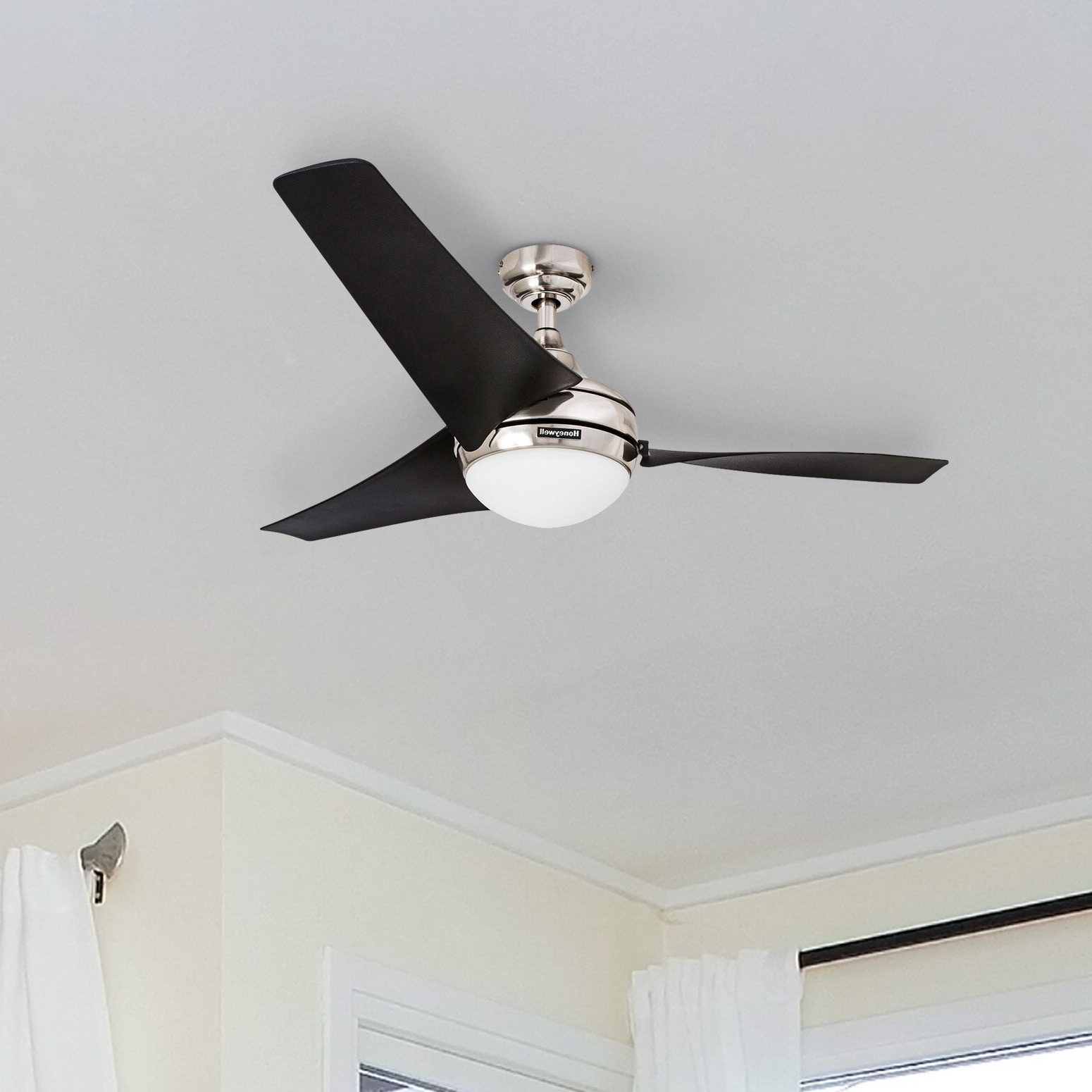 Acero Retro 3 Blade Led Ceiling Fans Inside Current Ceiling Fan 56 Inch (View 5 of 20)