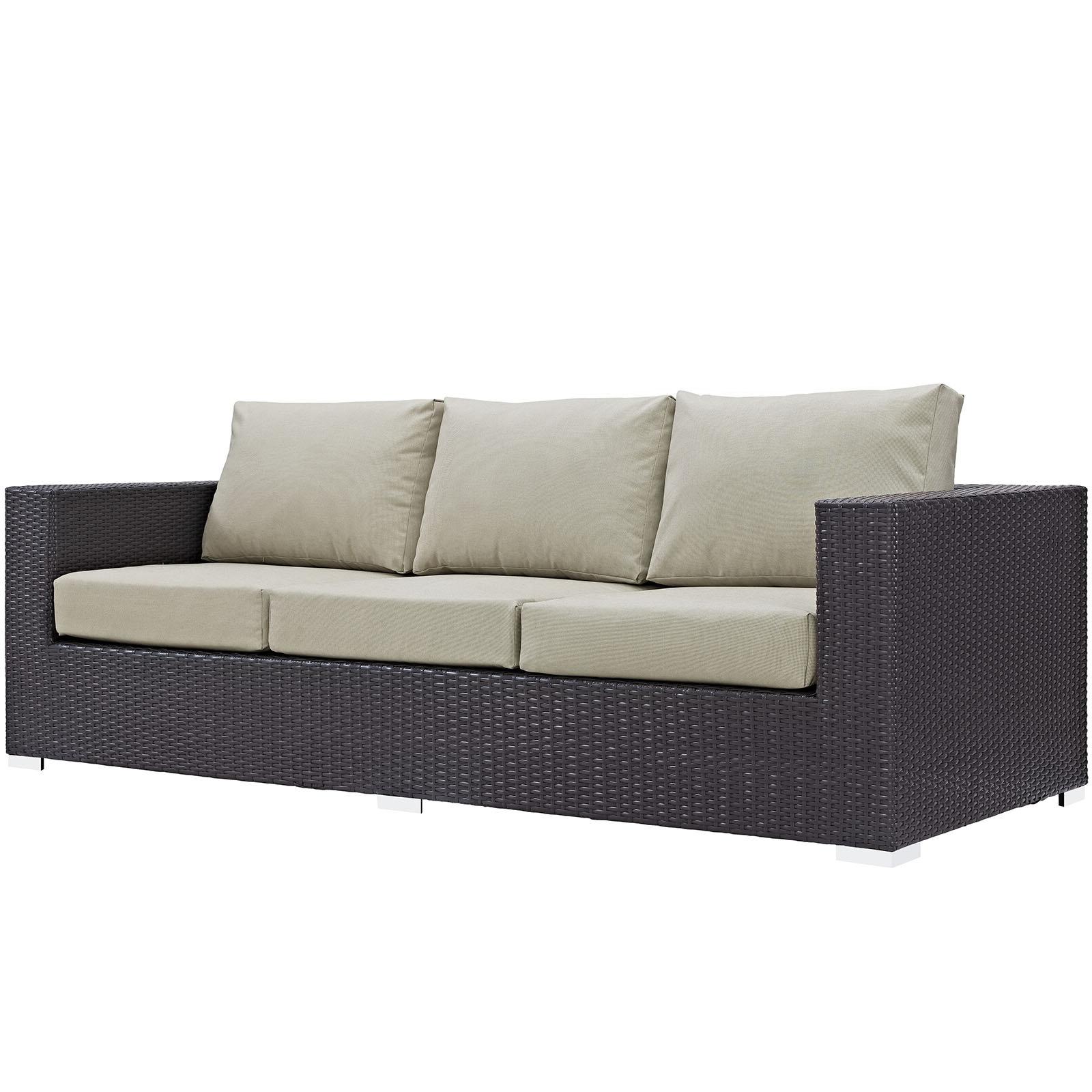 Allmodern Inside Loggins Patio Sofas With Cushions (Gallery 19 of 20)