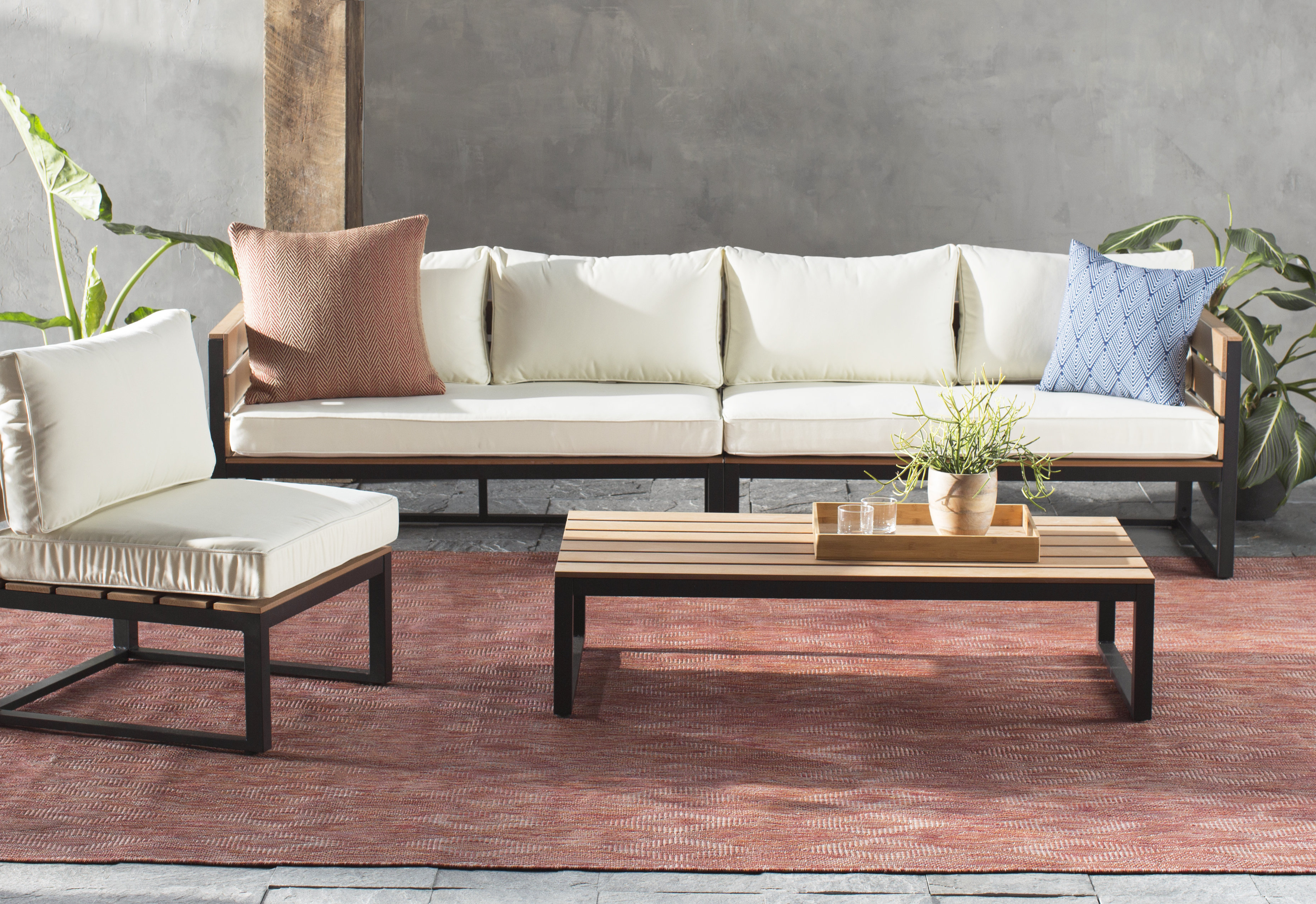 Allmodern Intended For Current Michal Patio Sofas With Cushions (View 12 of 20)