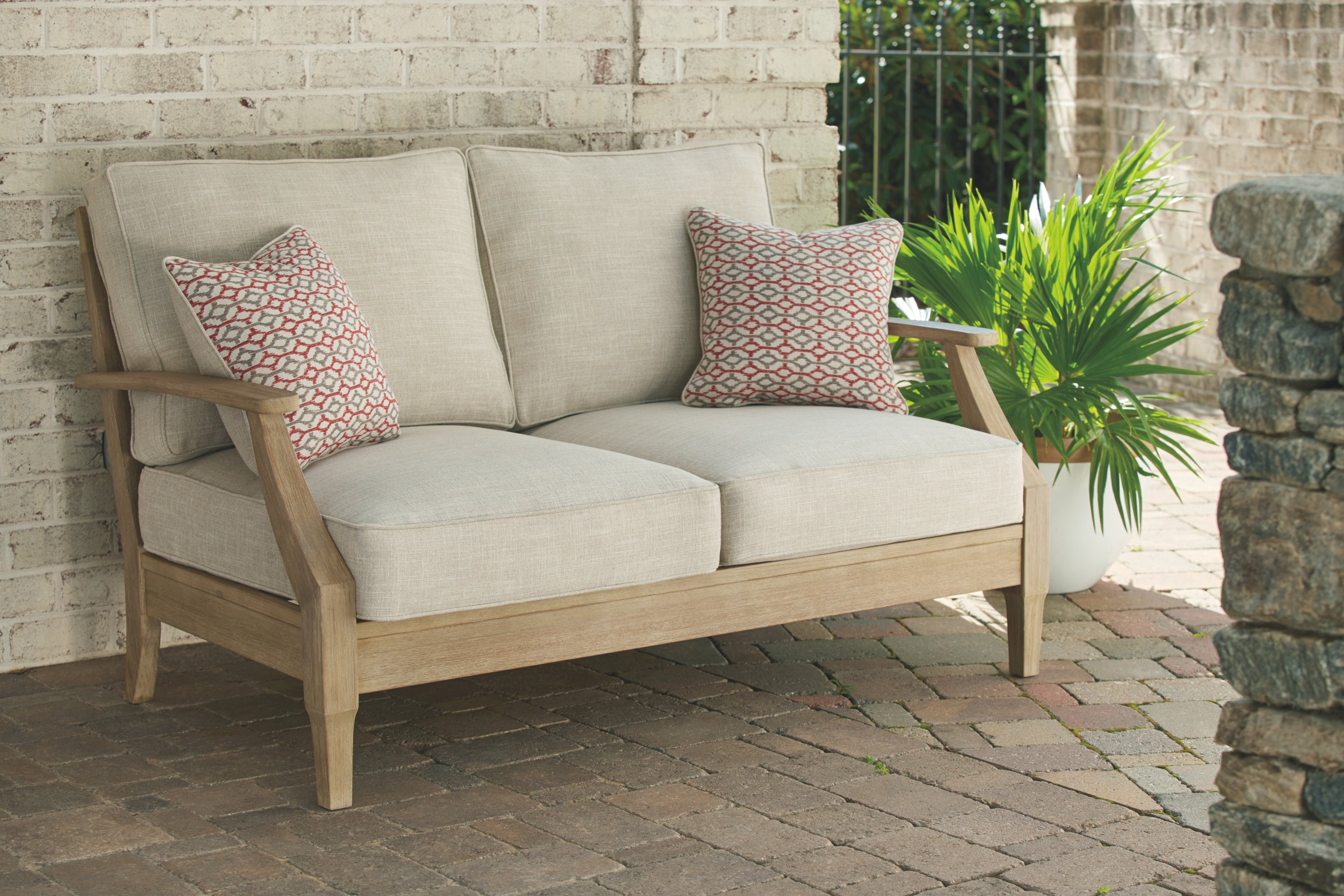Anguiano Loveseat With Cushions For Recent Pantano Loveseats With Cushions (View 4 of 20)