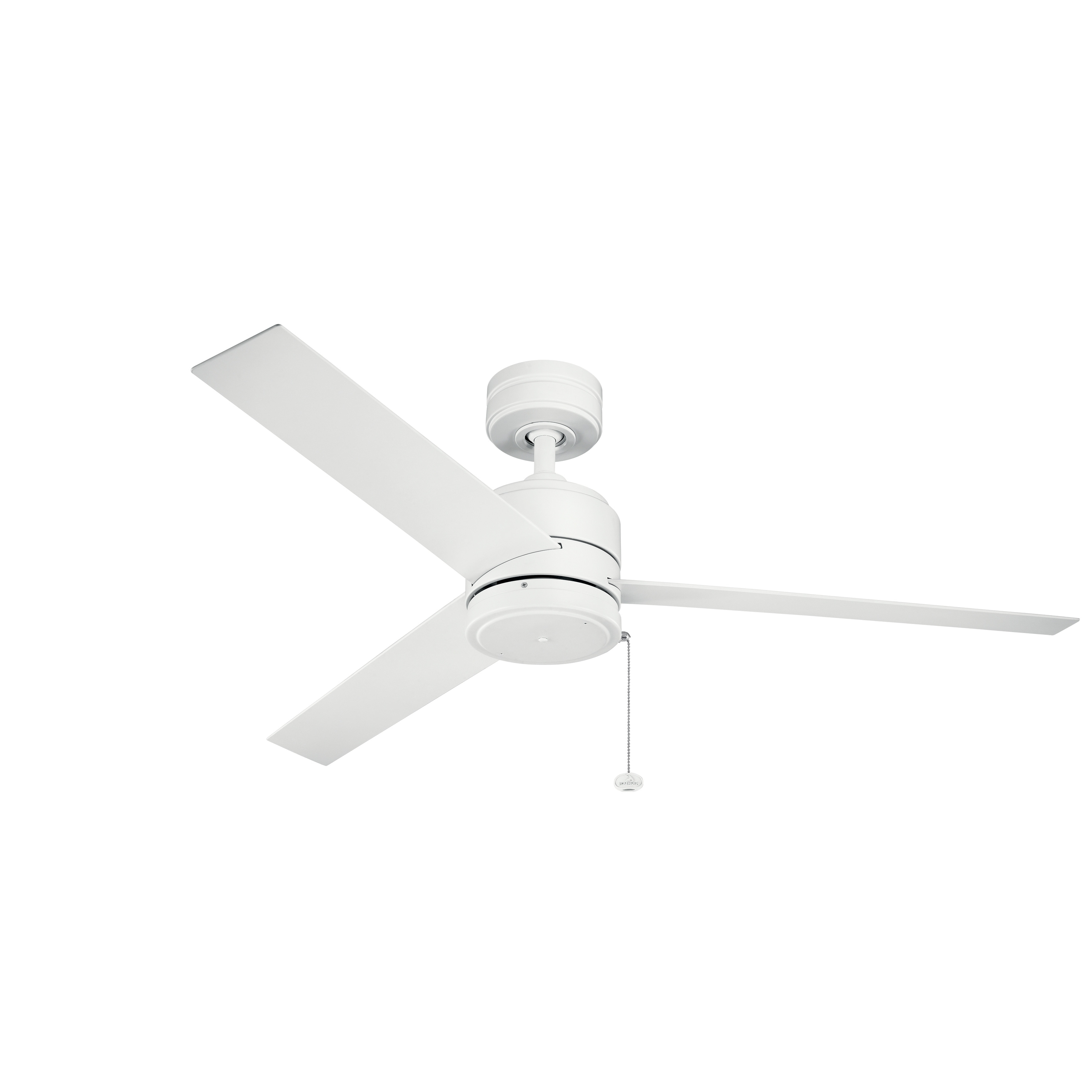 Arkwet 52 Inch Ceiling Fan (3 Finish Options) (Weathered With Favorite Morton 3 Blade Ceiling Fans (View 11 of 20)