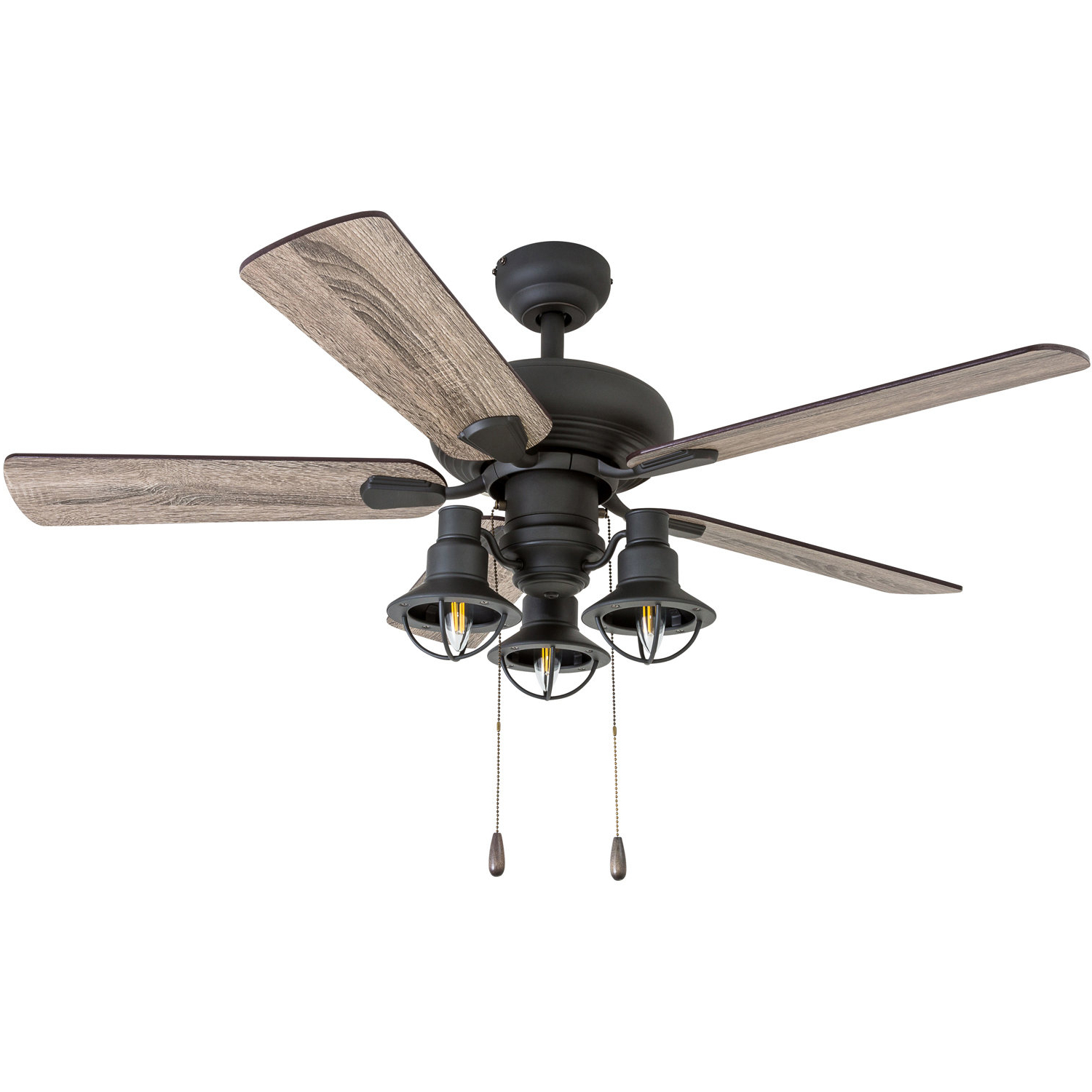 Auden 5 Blade Led Ceiling Fans For Best And Newest Five Blade Ceiling Fans (View 5 of 20)