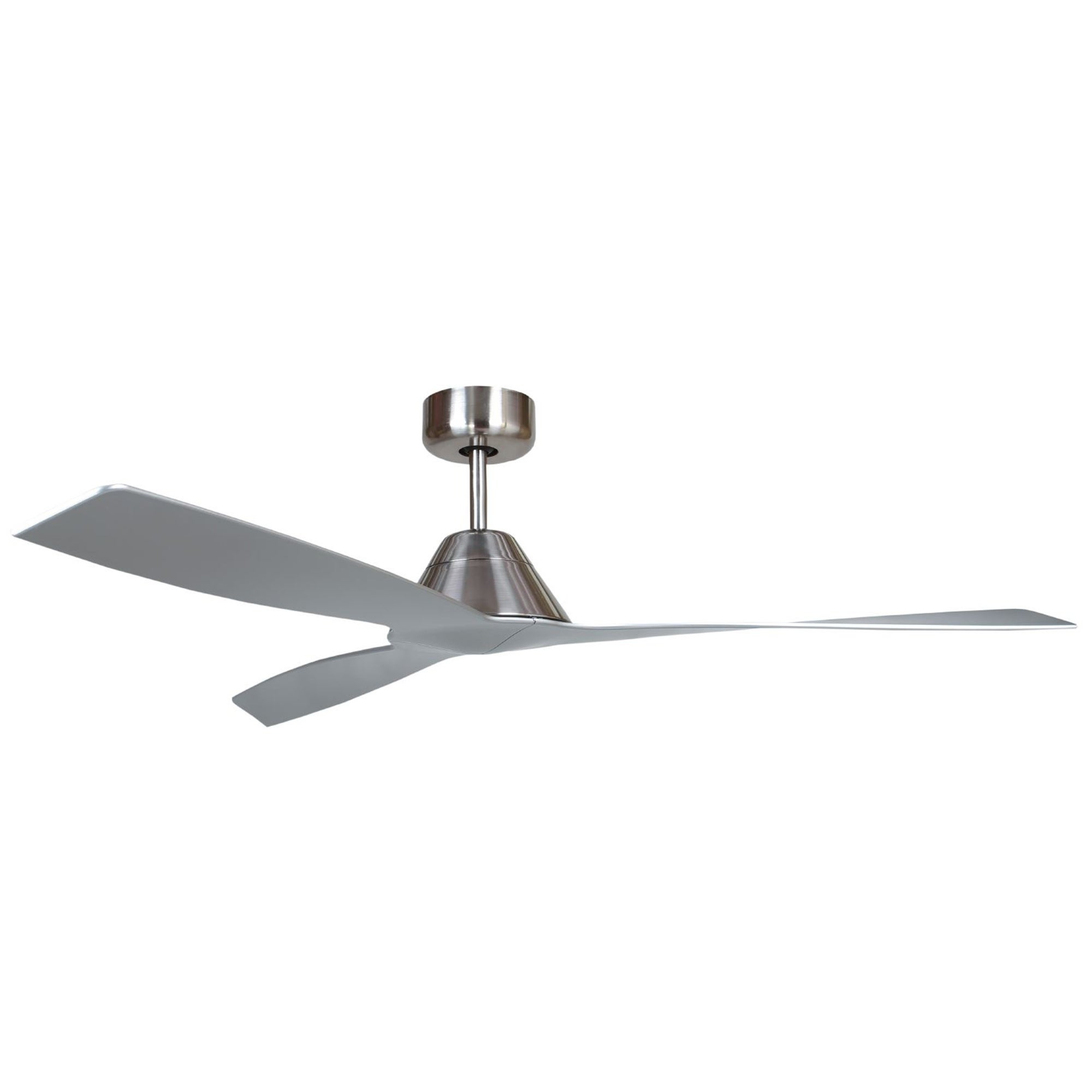 Bali1 Bn 3 Blade Ceiling Fan In Brushed Nickel Finish Pertaining To Well Known Embrace 3 Blade Ceiling Fans (View 5 of 20)