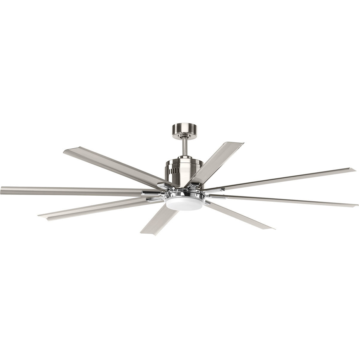 "Bankston 8 Blade Led Ceiling Fans Regarding Most Recently Released 72"" Bankston 8 Blade Led Ceiling Fan With Remote, Light Kit Included (View 3 of 20)"