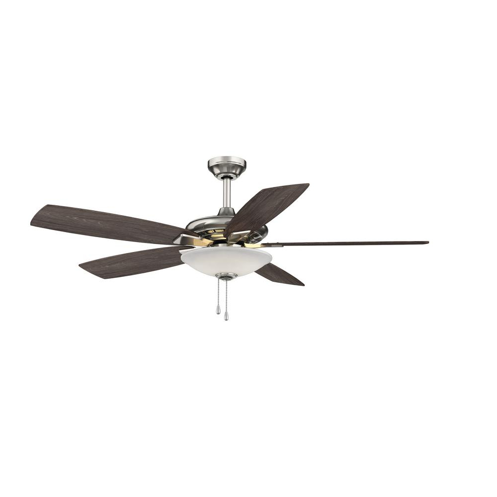 Banyan 5 Blade Ceiling Fans Intended For Trendy Hampton Bay Menage 52 In (View 8 of 20)