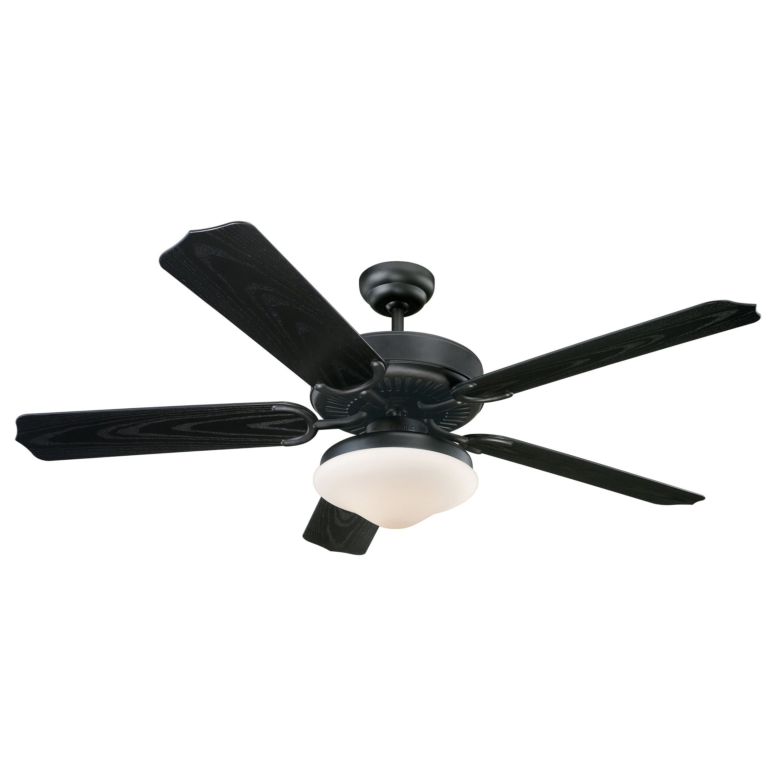 Bayview 5 Blade Ceiling Fans Inside Most Popular Monte Carlo Weatherford Deluxe 52 Inch 5 Blade Outdoor Ceiling Fan (View 3 of 20)