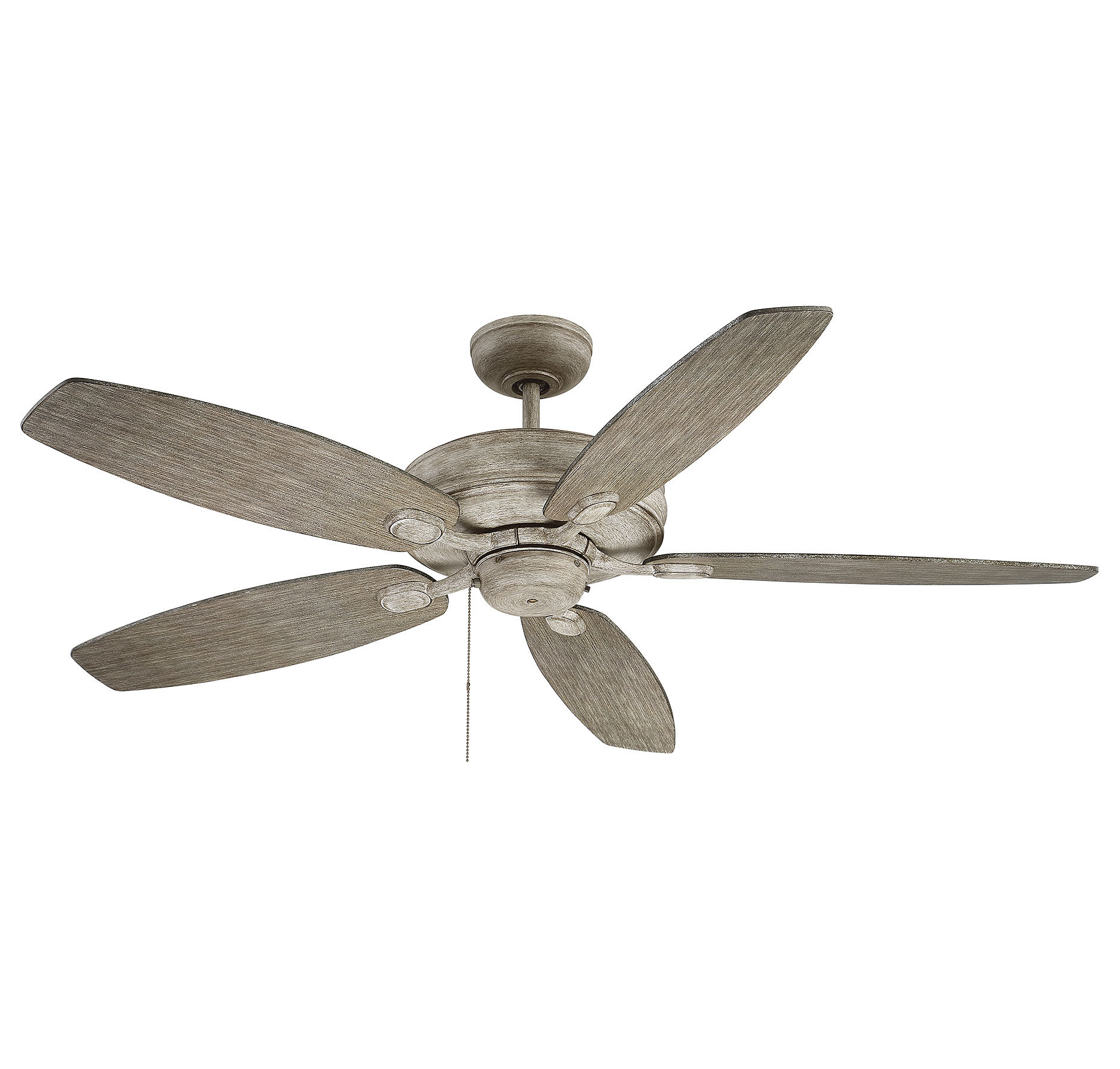 "Bayview 5 Blade Ceiling Fans Throughout Fashionable Genevie 52"" Kentwood 5 Blade Ceiling Fan (Gallery 7 of 20)"
