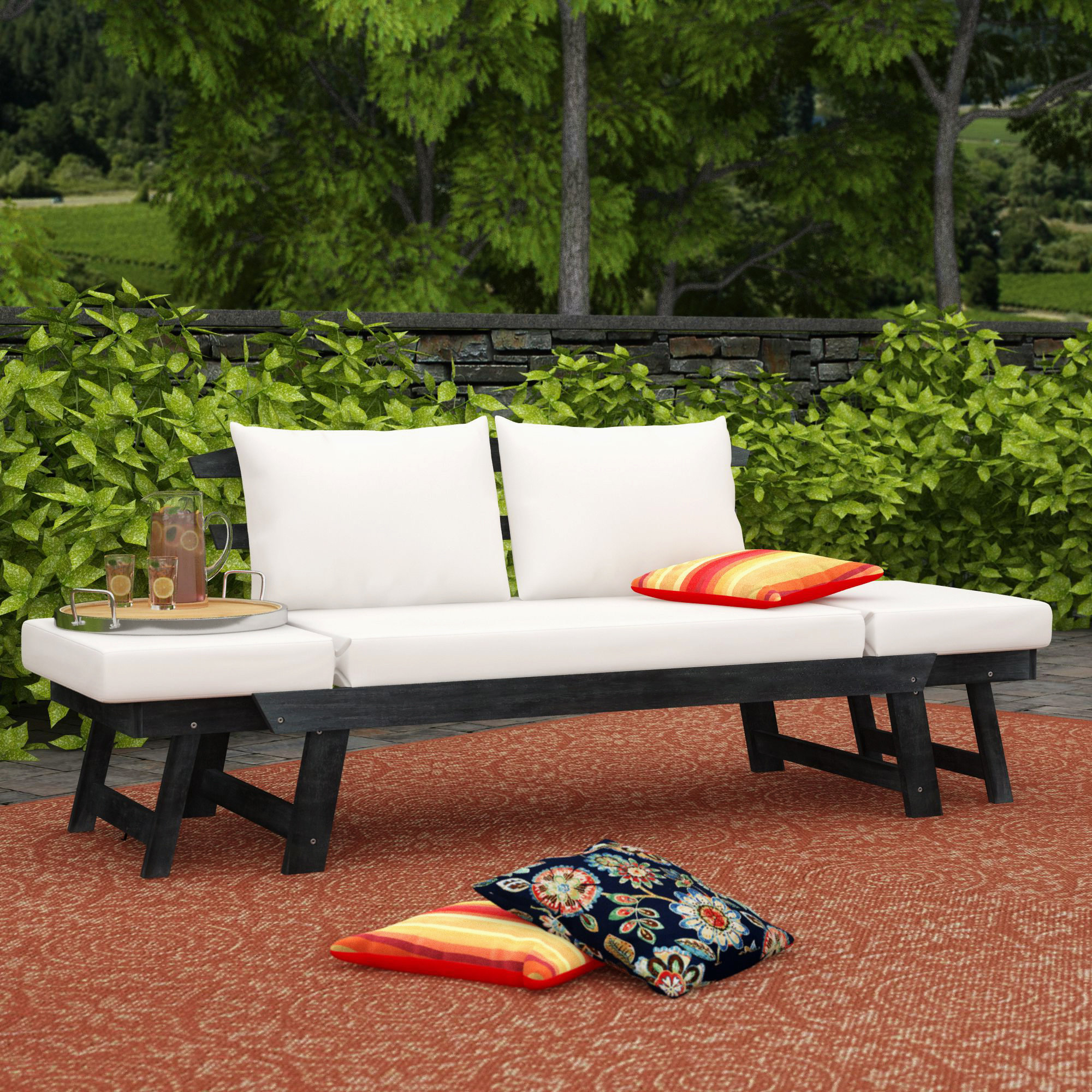 Beal Patio Daybed With Cushions With Most Popular Beal Patio Daybeds With Cushions (View 3 of 25)
