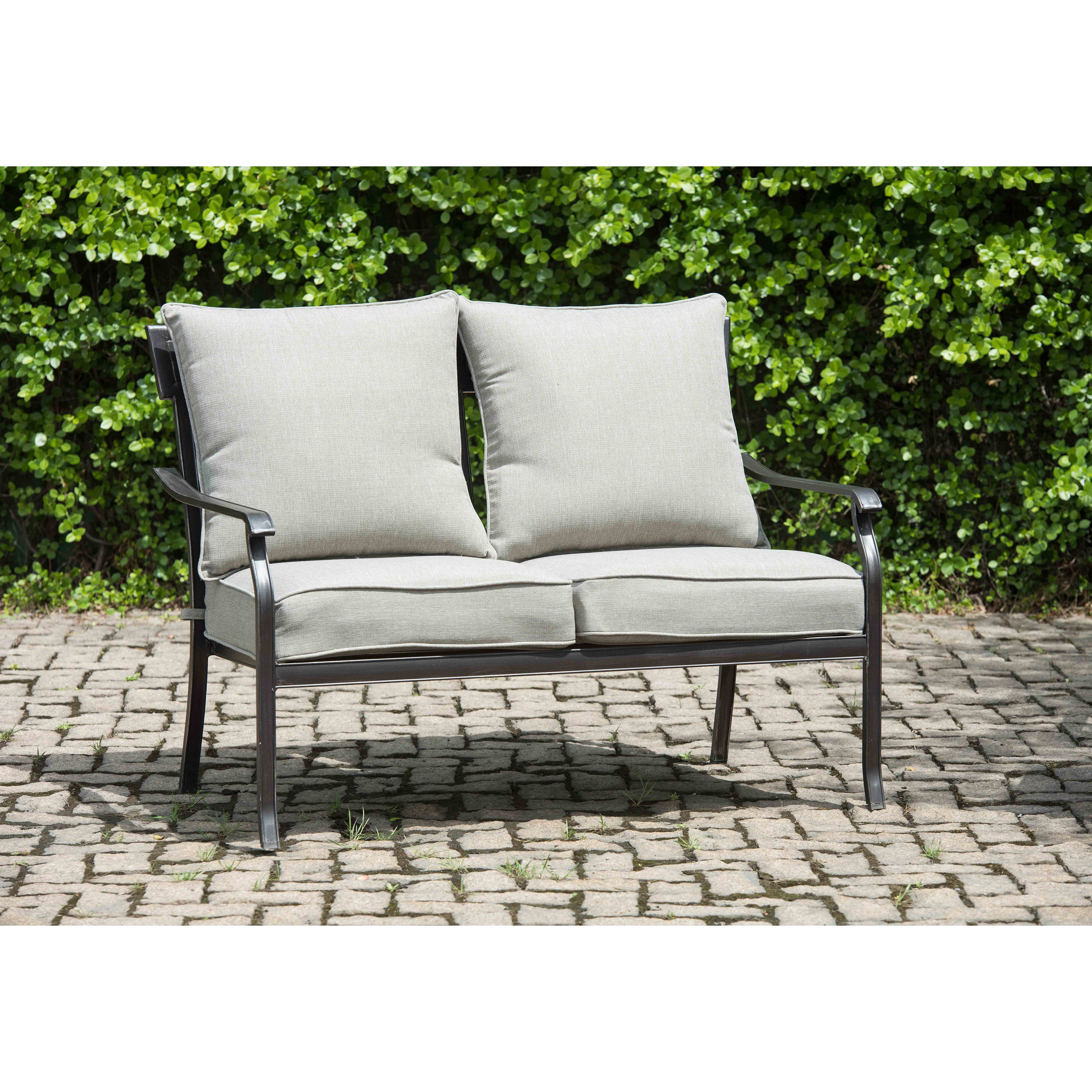 Beeson Loveseat With Cushions In Most Recent Englewood Loveseats With Cushions (Gallery 7 of 20)