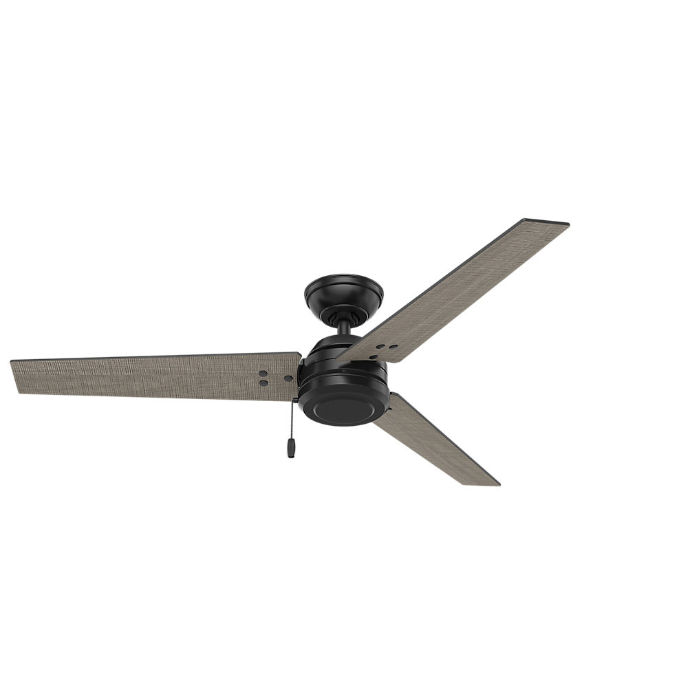 """Bernabe 3 Blade Ceiling Fans With Popular 52"""" Cassius 3 Blade Outdoor Ceiling Fan (View 12 of 20)"""