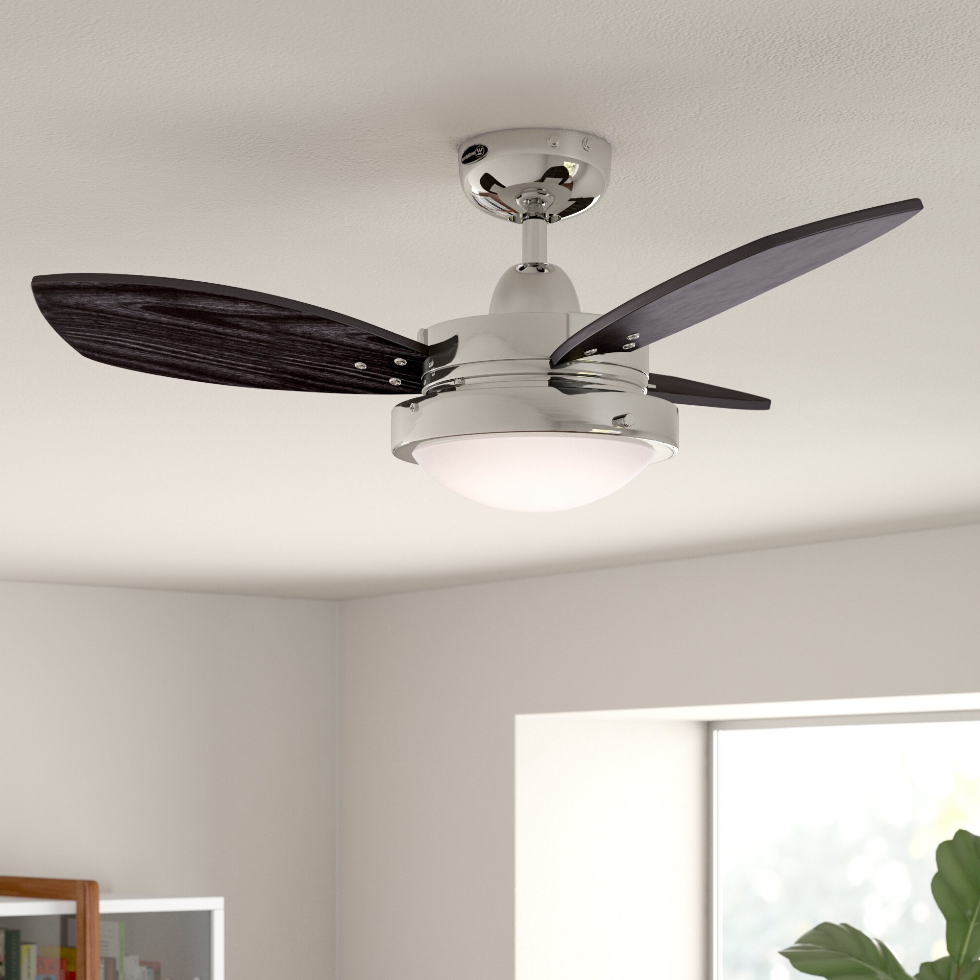 """Best And Newest 30"""" Heskett 3 Blade Led Ceiling Fan With Light Kit Included With Bernabe 3 Blade Ceiling Fans (View 13 of 20)"""