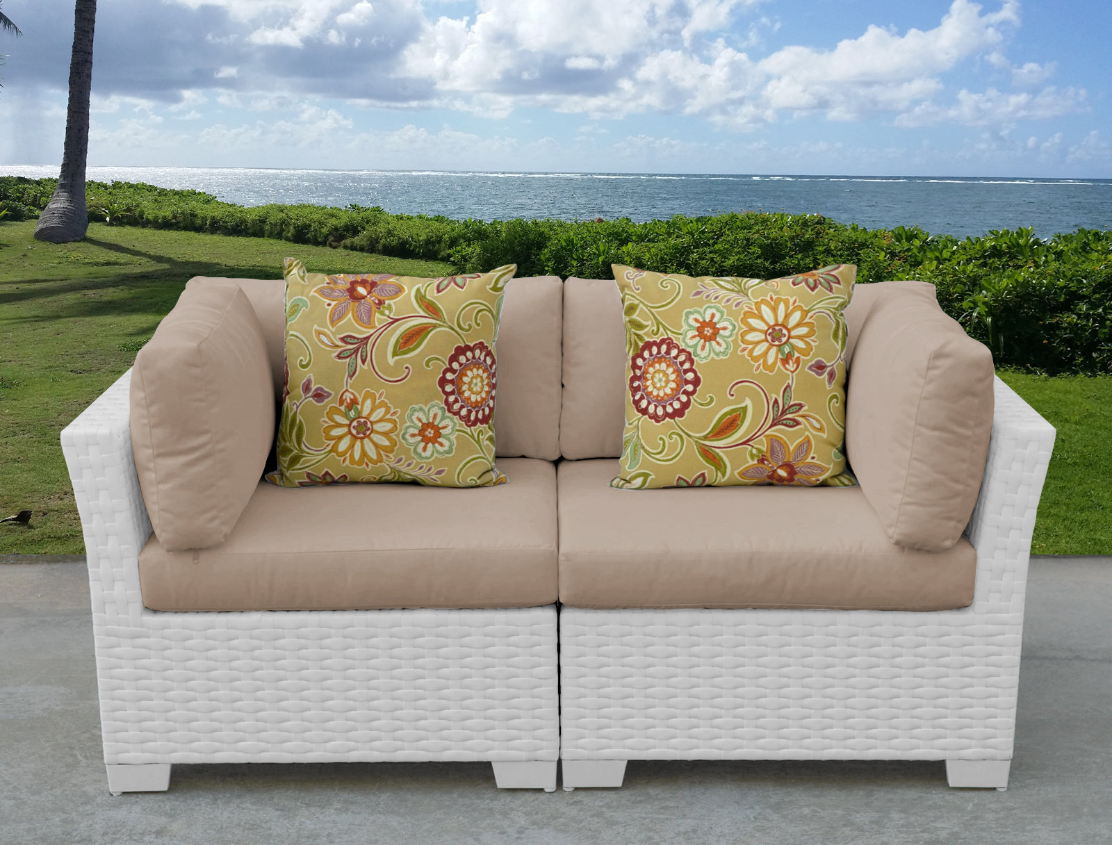 Best And Newest Alburg Loveseats With Cushions Regarding Monaco Loveseat With Cushions (View 11 of 25)
