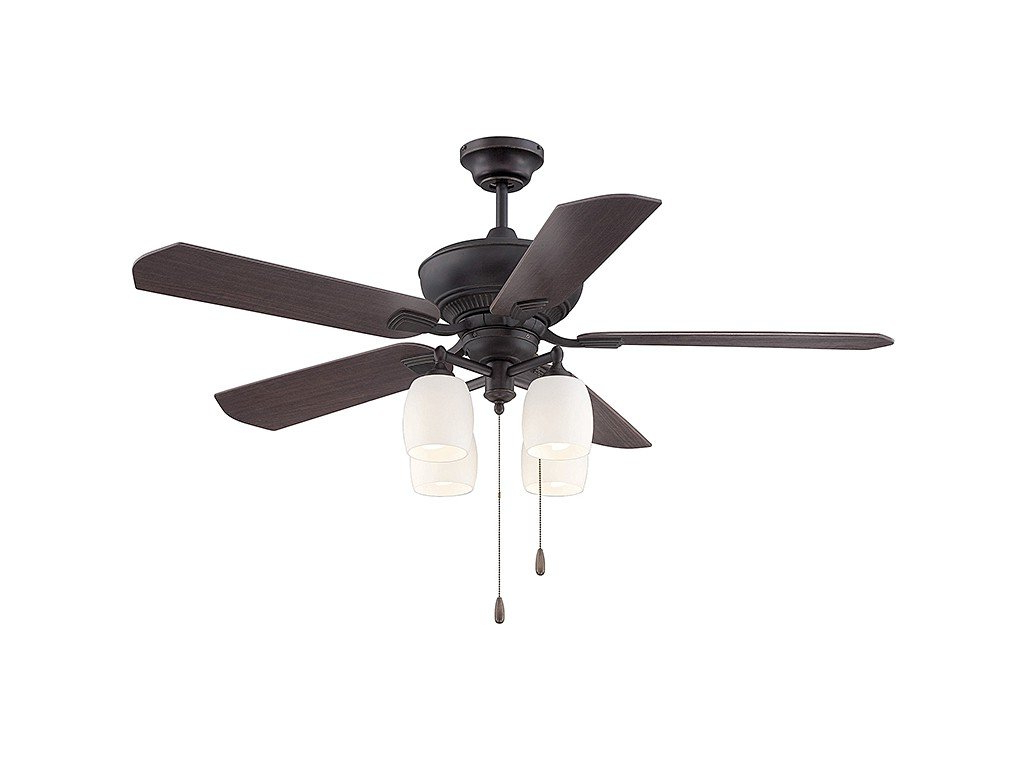 Best And Newest Timeless 5 Blade Ceiling Fans Throughout Savoy House 52 100 5rv 213 Braddock 52 5 Blade Ceiling Fan In English Bronze W/gold (View 20 of 20)