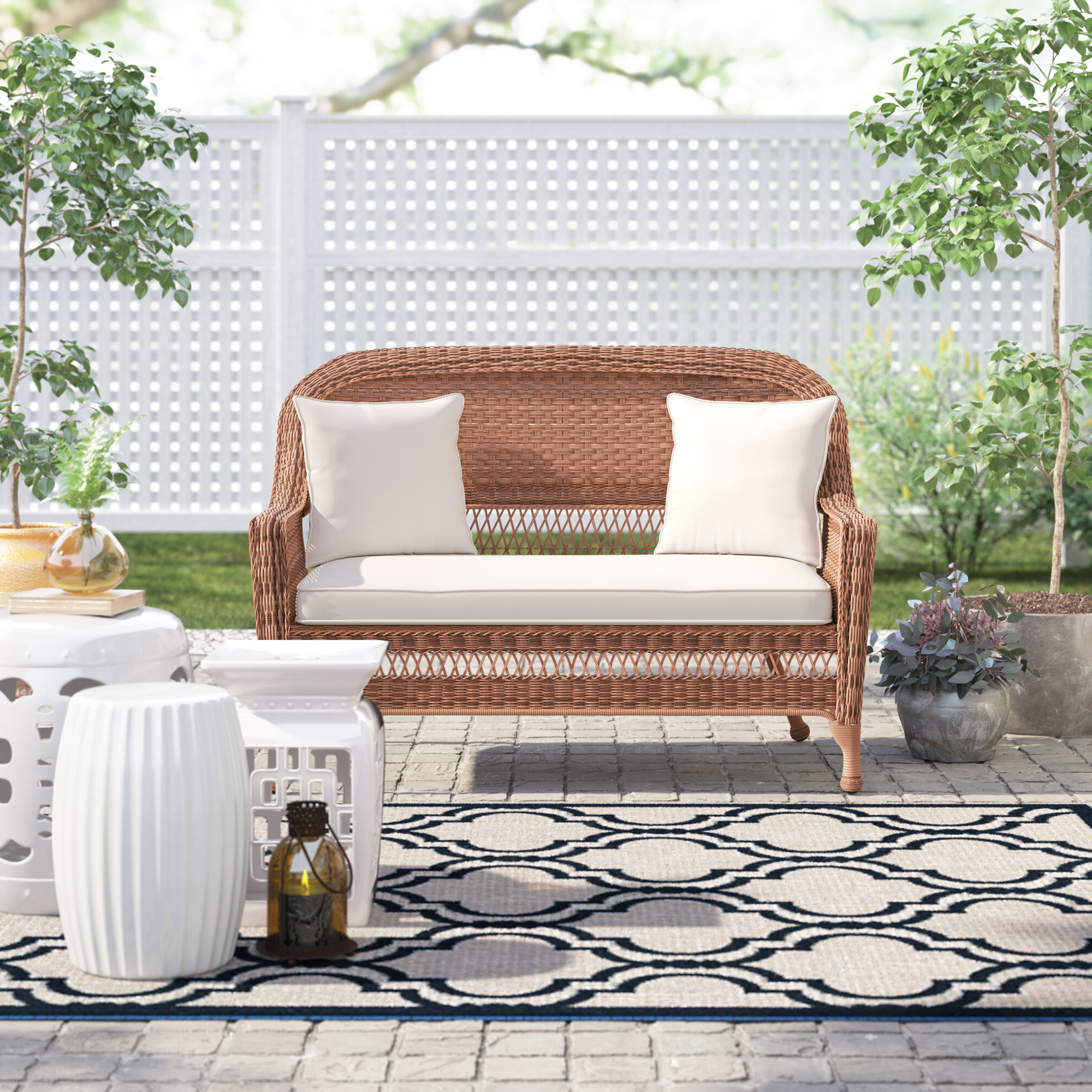 Birch Lane™ Heritage Alburg Loveseat With Cushions & Reviews With Regard To Current Englewood Loveseats With Cushions (View 2 of 20)
