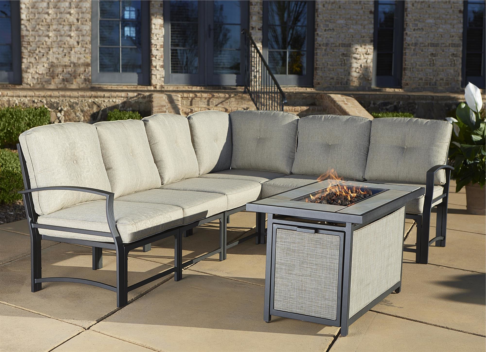 Birch Lane Intended For Well Known Purington Circular Patio Sectionals With Cushions (View 4 of 20)