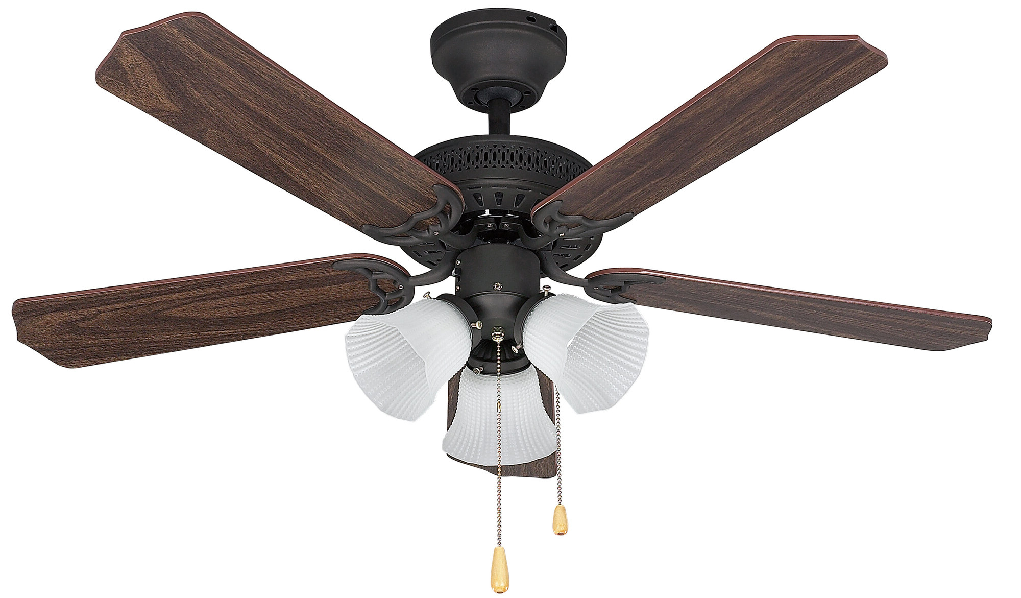 "Blomquist 5 Blade Outdoor Ceiling Fans For Well Known Details About Charlton Home 42"" Marilyn 5 Blade Ceiling Fan (View 17 of 20)"