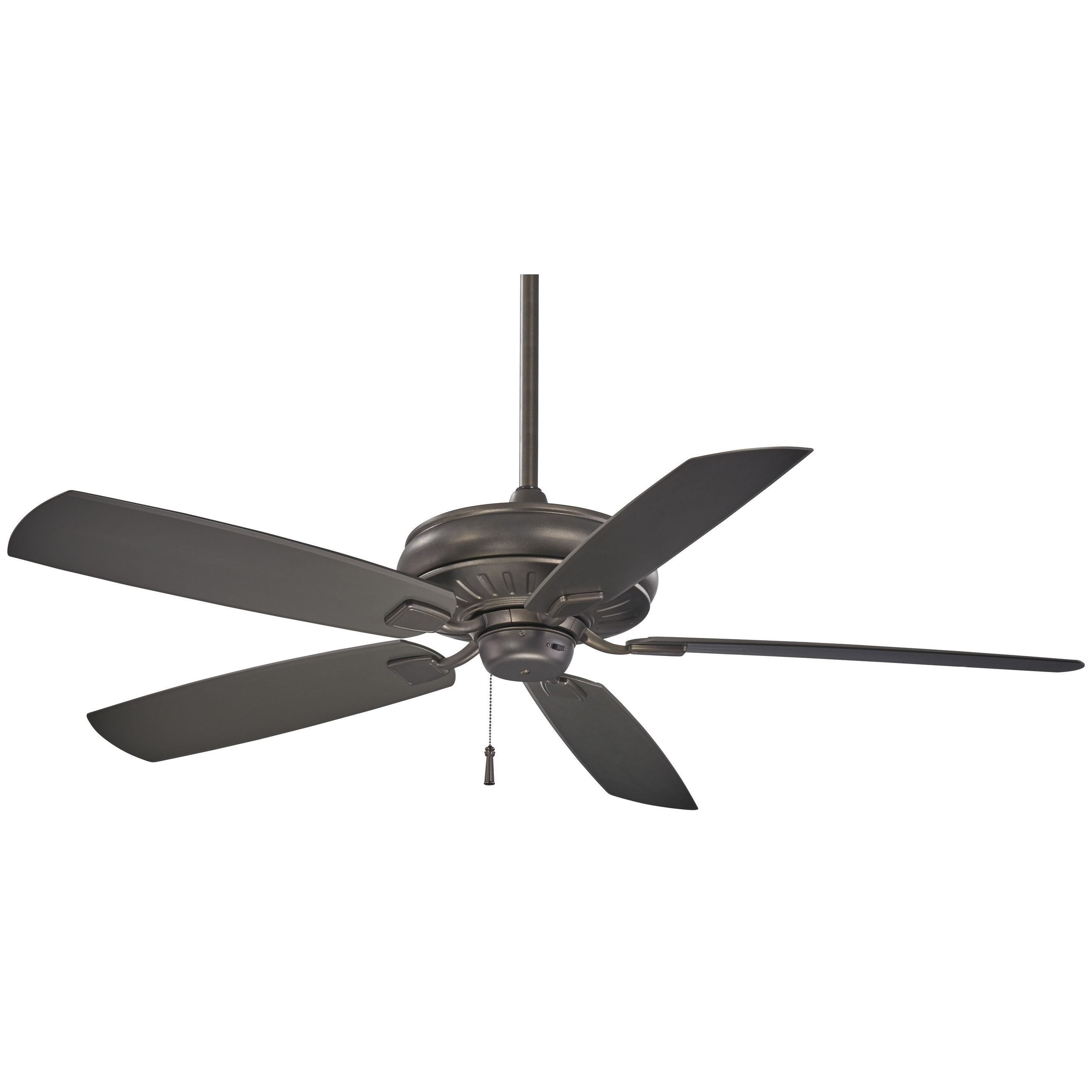 """Blomquist 5 Blade Outdoor Ceiling Fans Intended For Most Recent Minka Aire Sunseeker 60"""" Ceiling Fan (View 7 of 20)"""