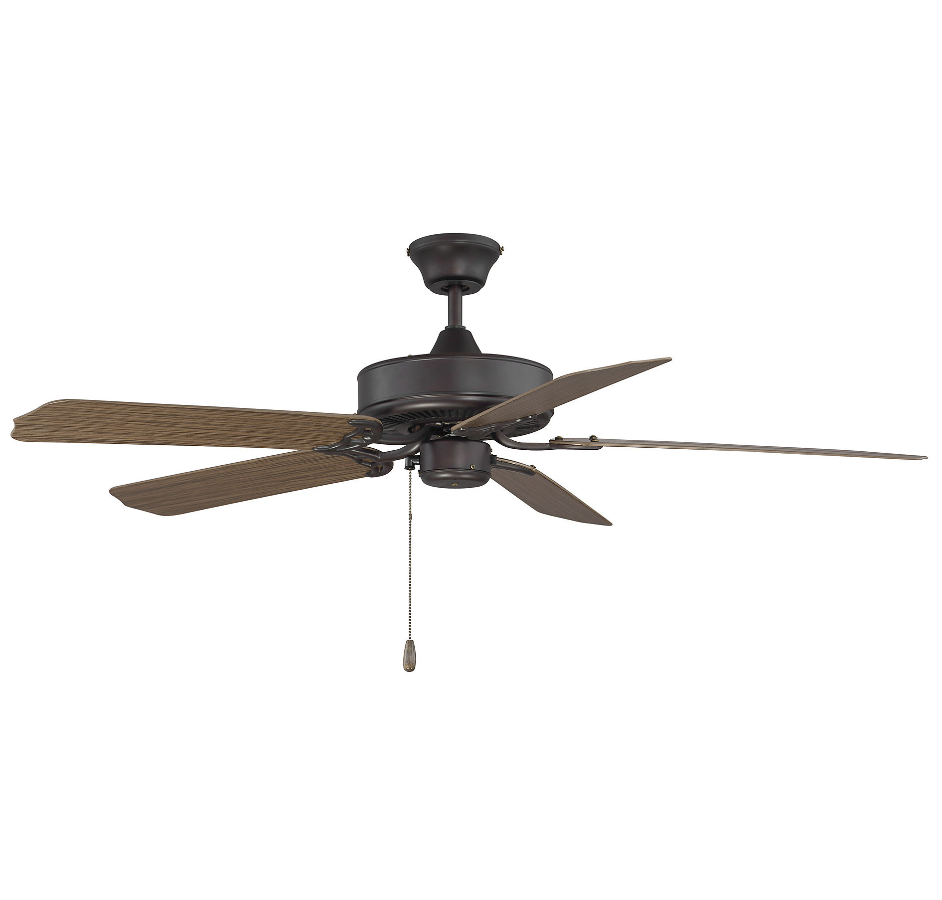 """Blomquist 5 Blade Outdoor Ceiling Fans With Well Known Details About Charlton Home 52"""" Blomquist 5 Blade Outdoor Ceiling Fan (View 10 of 20)"""