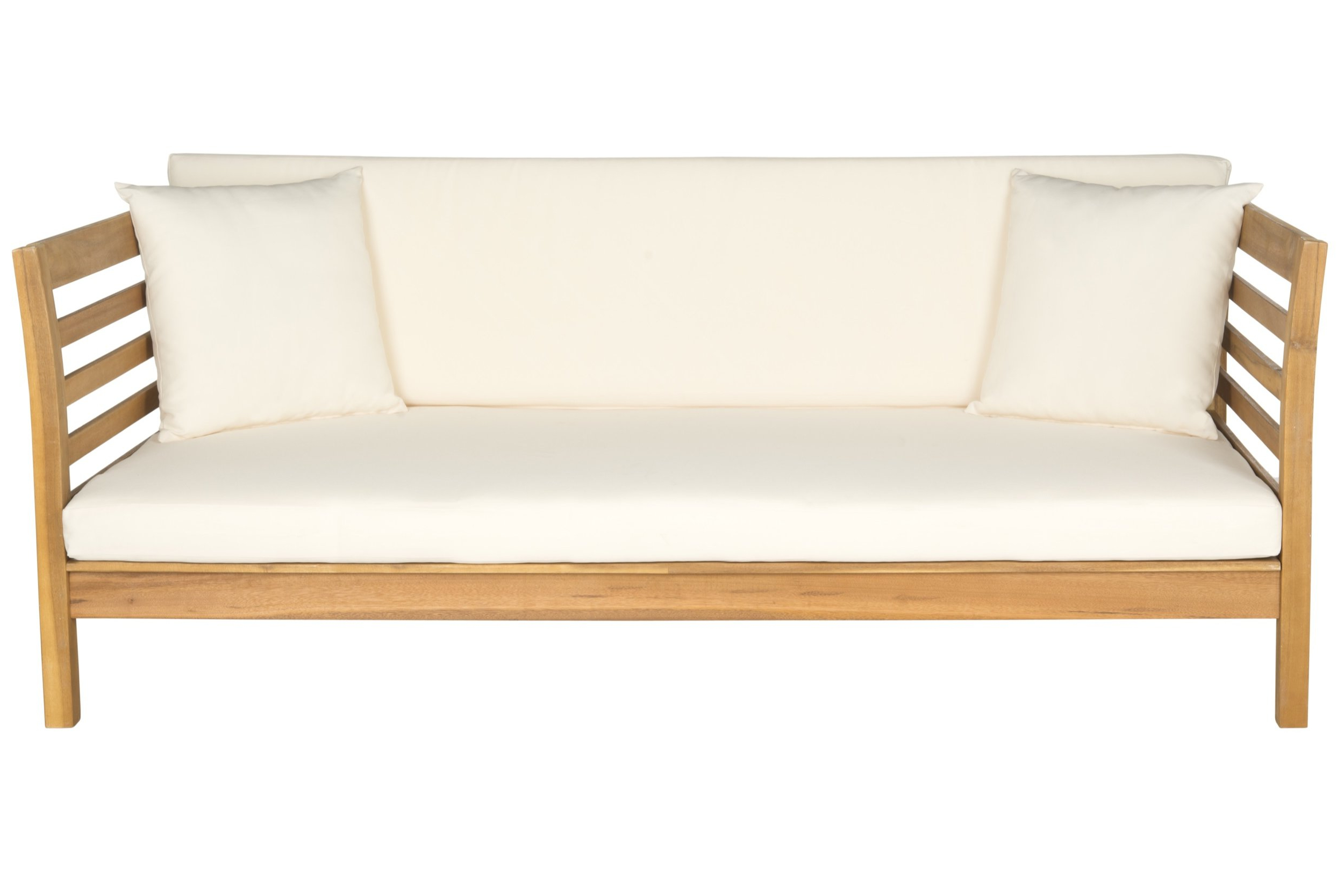Bodine Patio Daybed With Cushions In Well Known Roush Teak Patio Daybeds With Cushions (View 3 of 20)