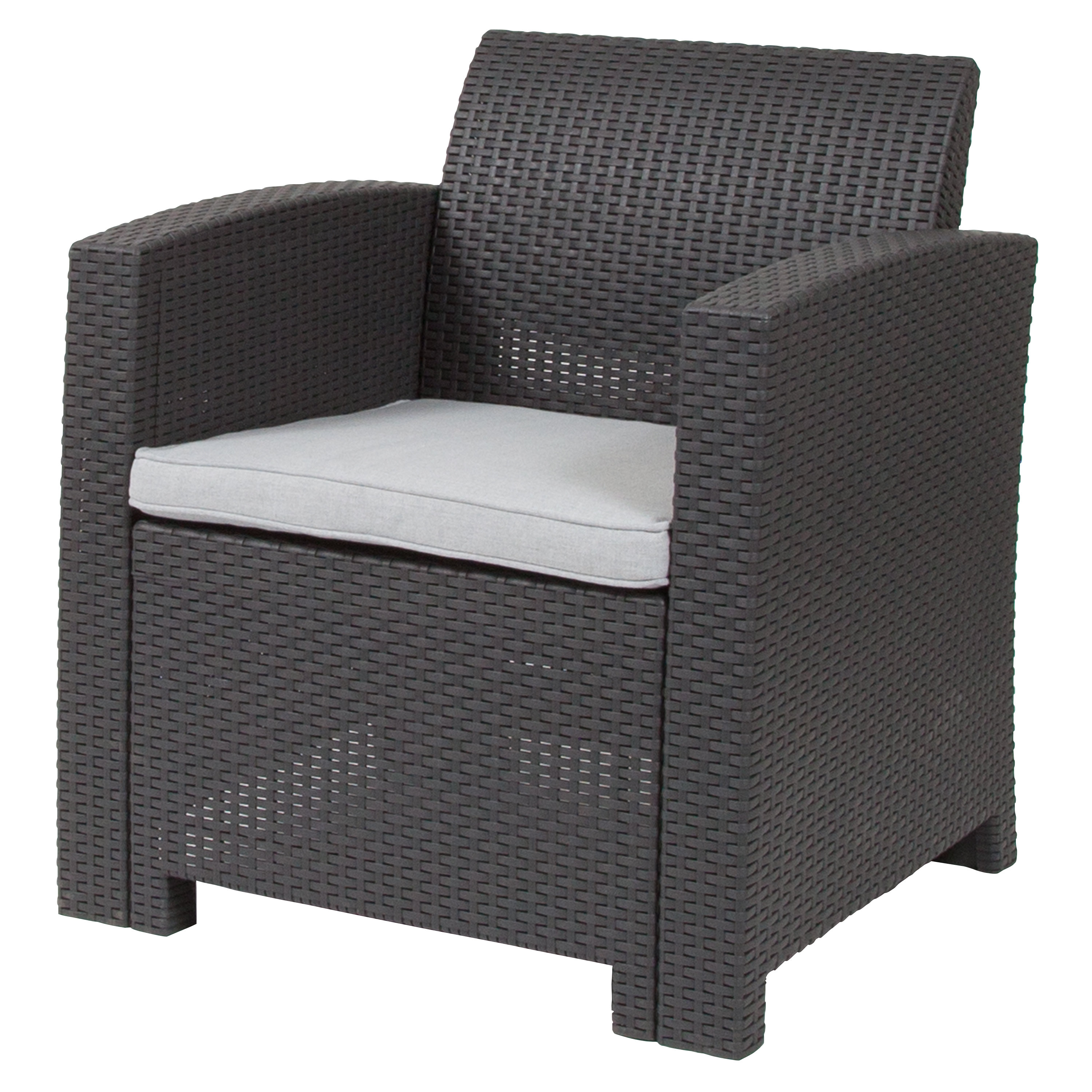 Breakwater Bay Stockwell Patio Chair With Cushion & Reviews Intended For Best And Newest Stockwell Patio Sofas With Cushions (View 1 of 20)