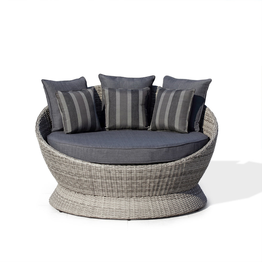 Brisbane Patio Daybed With Cushions With Regard To Favorite Lavina Outdoor Patio Daybeds With Cushions (View 2 of 20)
