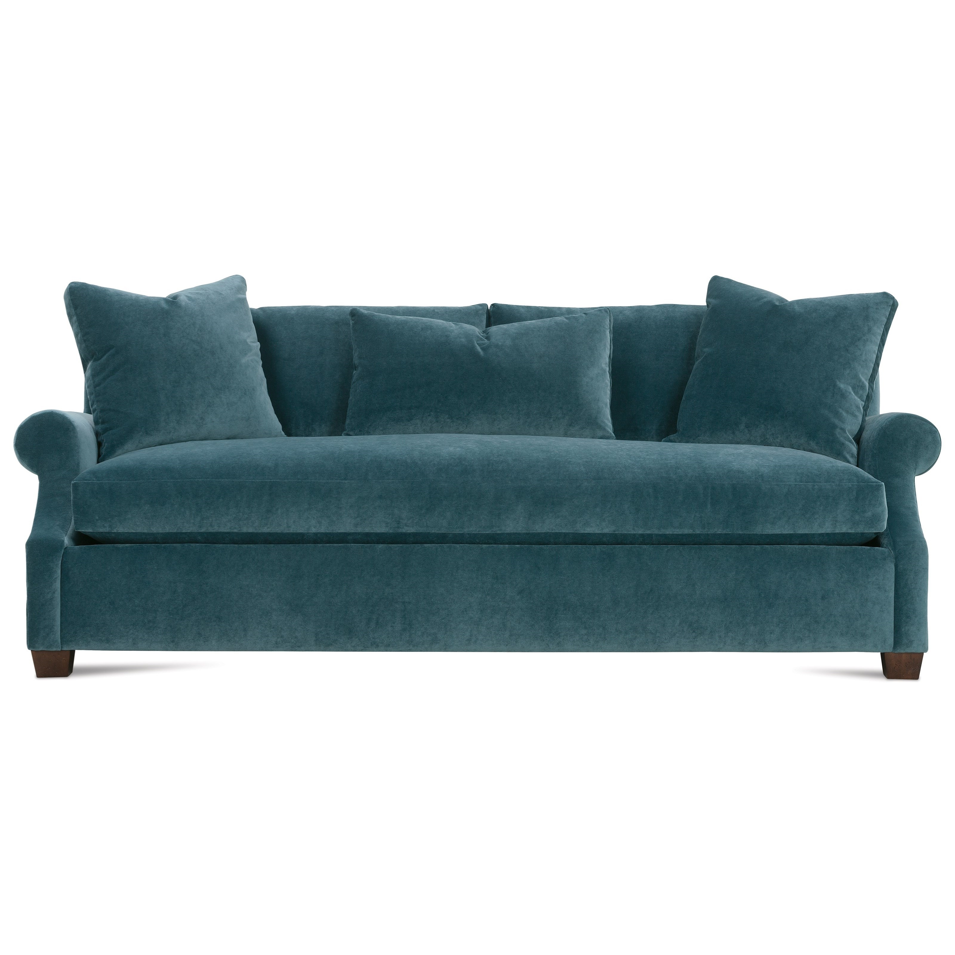 Bristol Loveseats With Cushions Throughout Best And Newest Robin Bruce Bristol Contemporary 85'' Sofa With Bench (View 4 of 20)