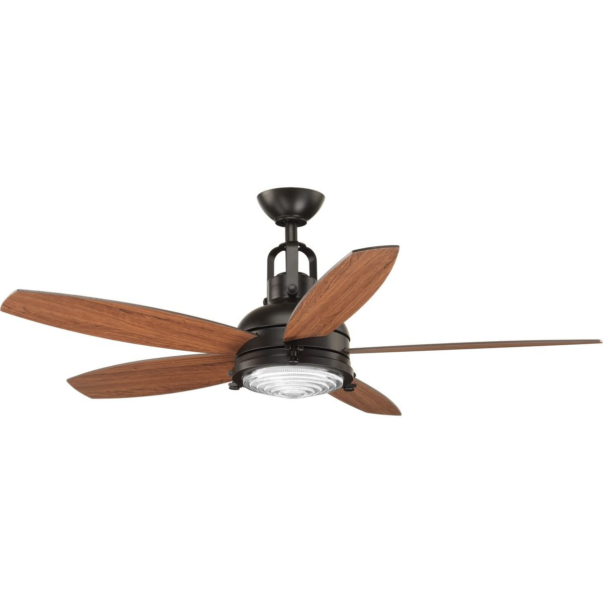 Brown Blades Ceiling Fans (Gallery 15 of 20)