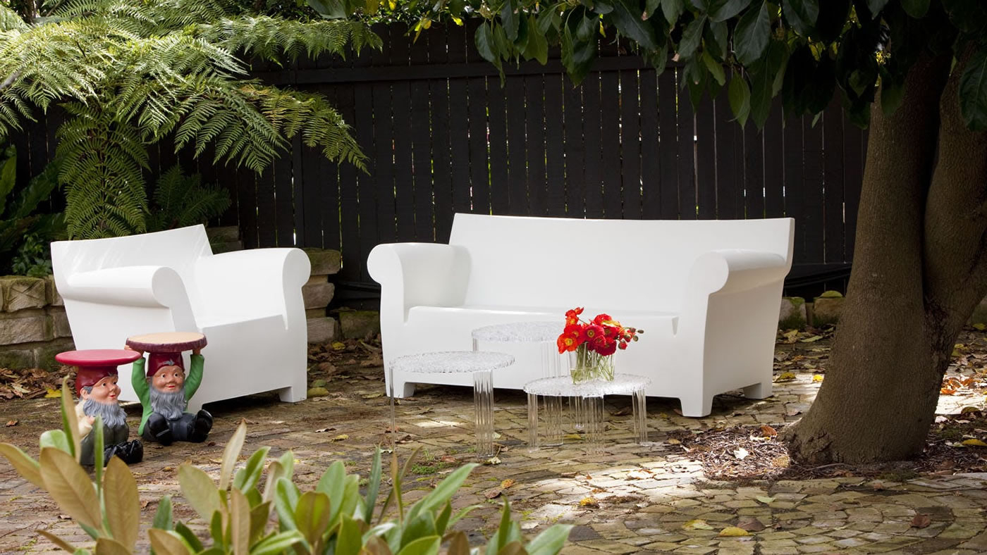 Bubble Club Kartell – Outdoor Bubble Club Kartell – Sofas In Favorite Bubble Club Sofas (View 4 of 20)