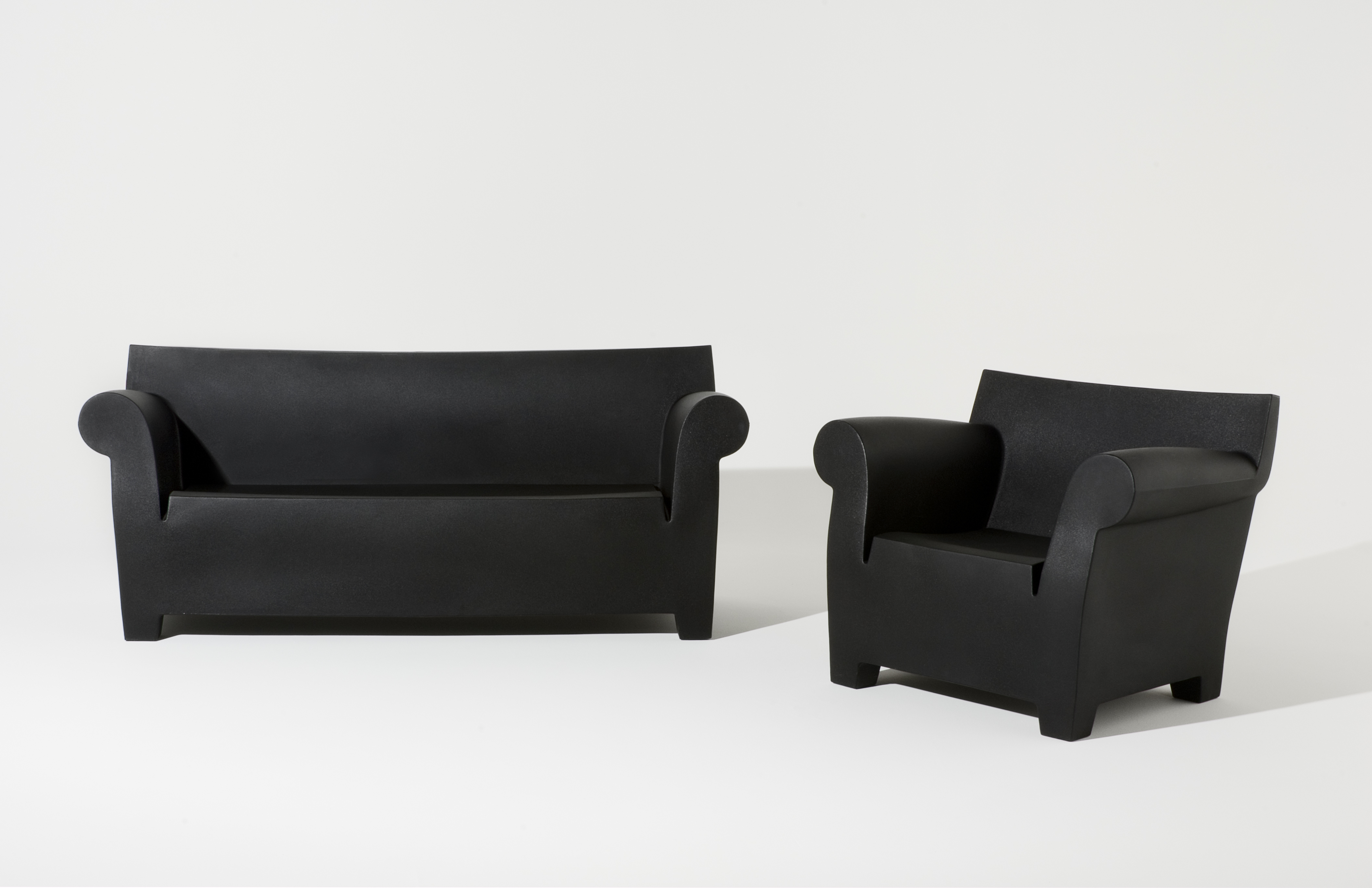 Bubble Club Sofas With Most Up To Date Design Ikonen – Bookworm Und Bubble Club Sofa Von Kartell (Gallery 9 of 20)