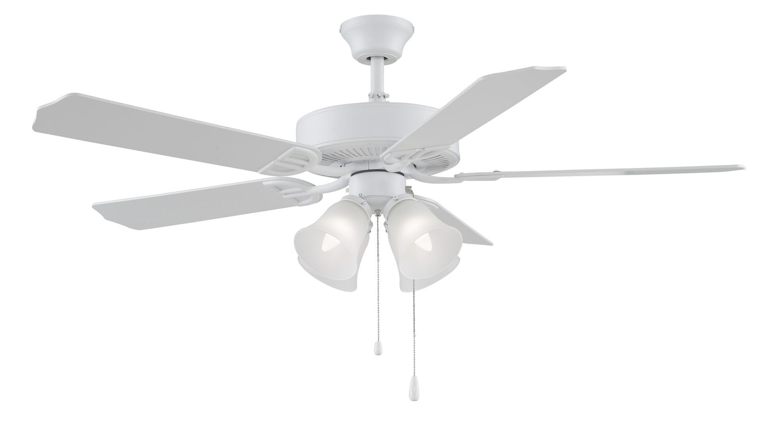 "Builder 5 Blade Ceiling Fans Intended For Most Up To Date 52"" Builder Series 5 Blade Ceiling Fan (View 3 of 20)"