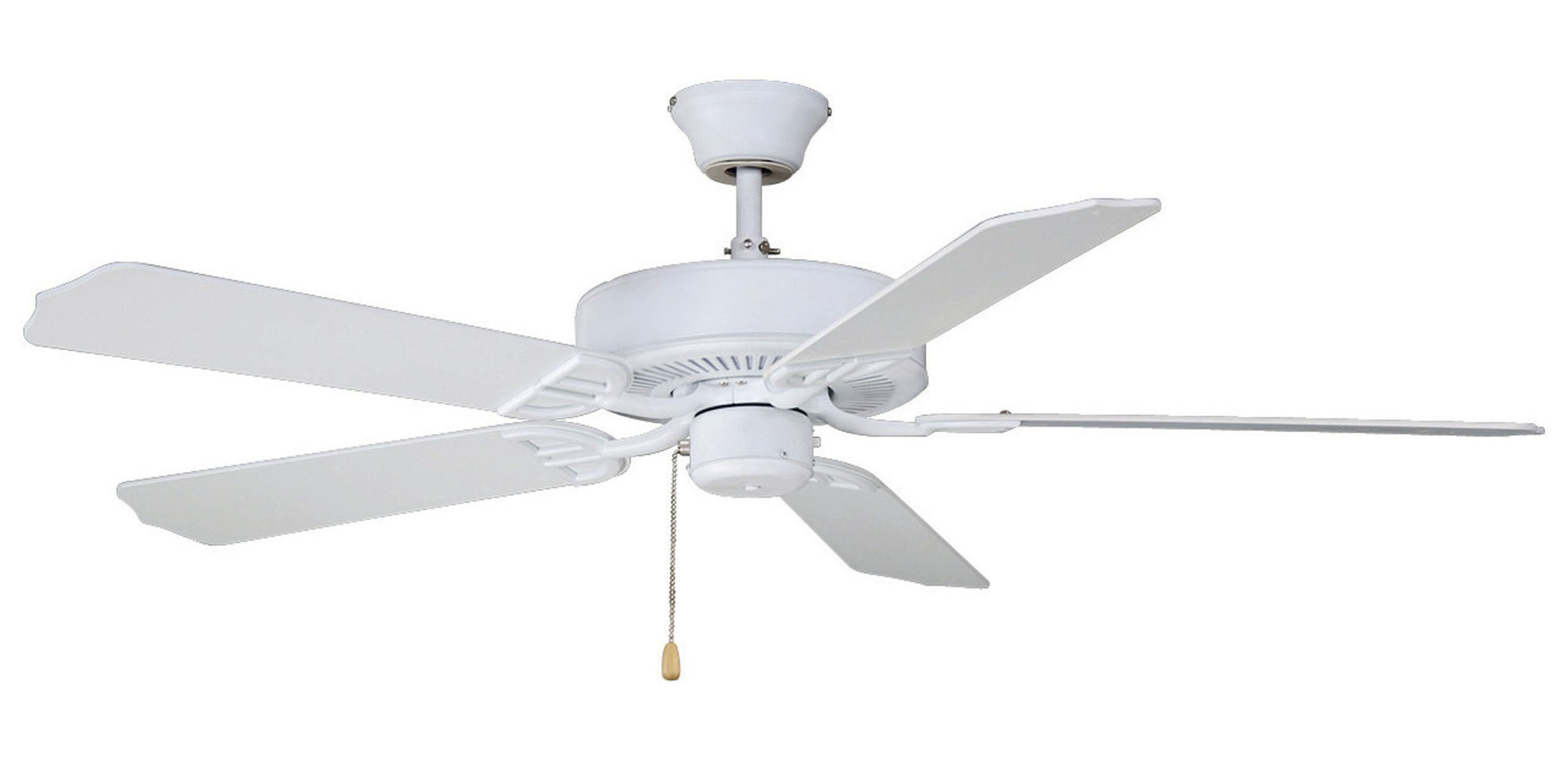 "Builder 5 Blade Ceiling Fans With Regard To Well Known 52"" Builder Series 5 Blade Standard Ceiling Fan (View 17 of 20)"