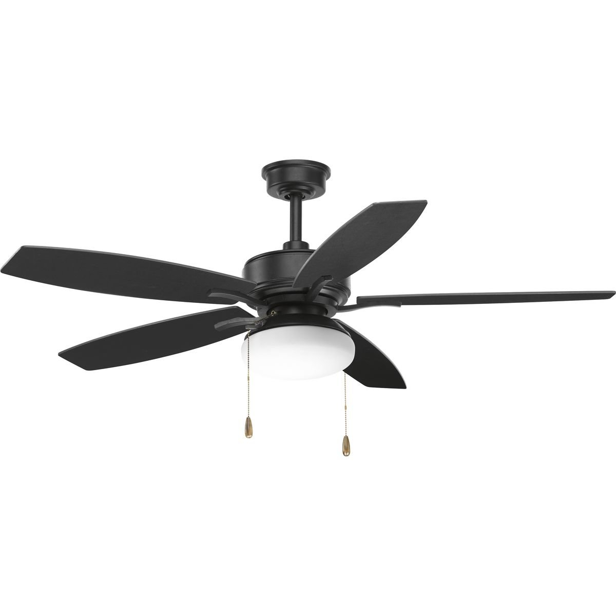 "Calkins 5 Blade Ceiling Fans With Most Popular 52"" Segars 5 Blade Ceiling Fan, Light Kit Included (View 11 of 20)"
