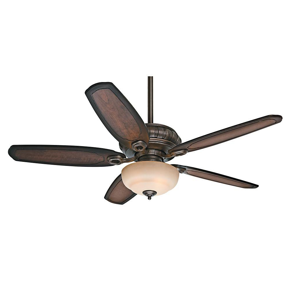 Caribbean Breeze 5 Blade Ceiling Fans Intended For Recent Hunter Kingsbridge 54 In (View 4 of 20)