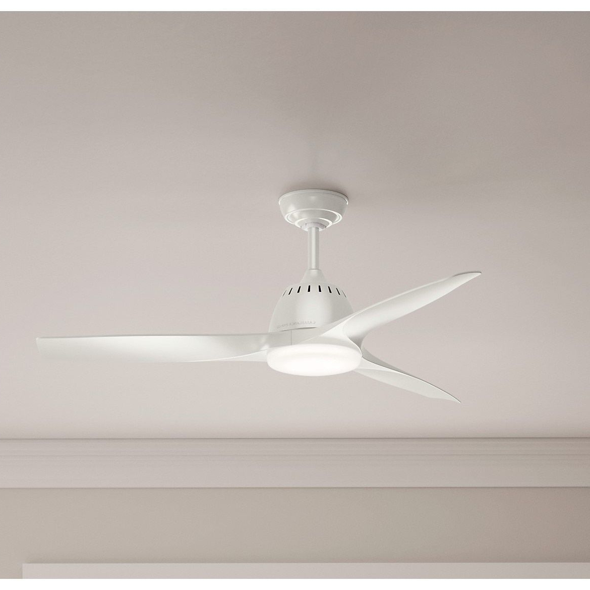 Casablanca Fan 3 Blade Wisp Fresh White Fan (52 Wisp Fresh Throughout 2019 Wisp 3 Blade Led Ceiling Fans (View 2 of 20)