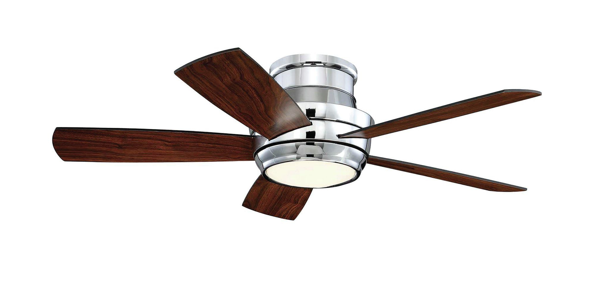 "Cedarton Hugger 5 Blade Led Ceiling Fans Regarding Newest Contemporary 44"" Cedarton Hugger 5 Blade Ceiling Fan With (View 4 of 20)"