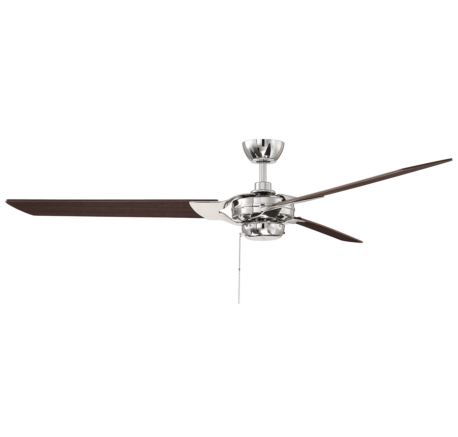 "Cedarton Hugger 5 Blade Led Ceiling Fans Within Well Known 62"" St Catherine Monfort 3 Blade Led Ceiling Fan (View 8 of 20)"