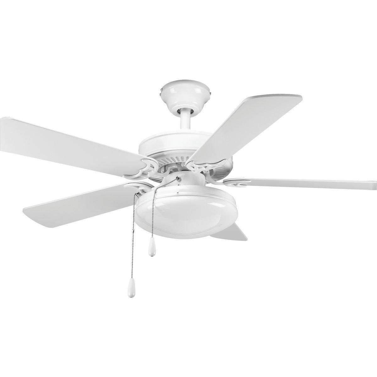 "Cerro 5 Blade Ceiling Fans Inside Most Recent 42"" Goreville 5 Blade Ceiling Fan (View 7 of 20)"