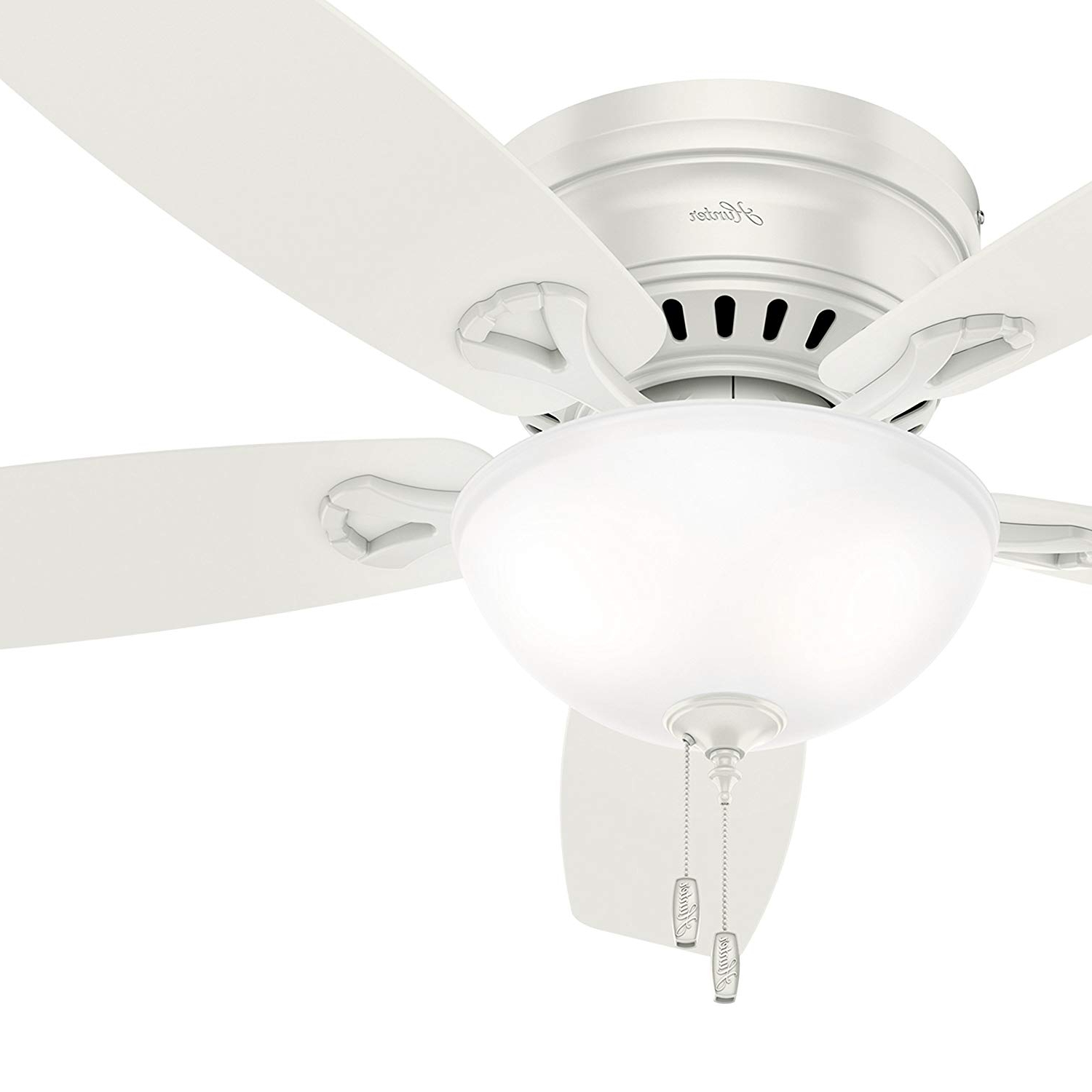Cheap White Low Profile Ceiling Fan, Find White Low Profile For Fashionable Low Profile Iv 5 Blade Ceiling Fans (View 17 of 20)