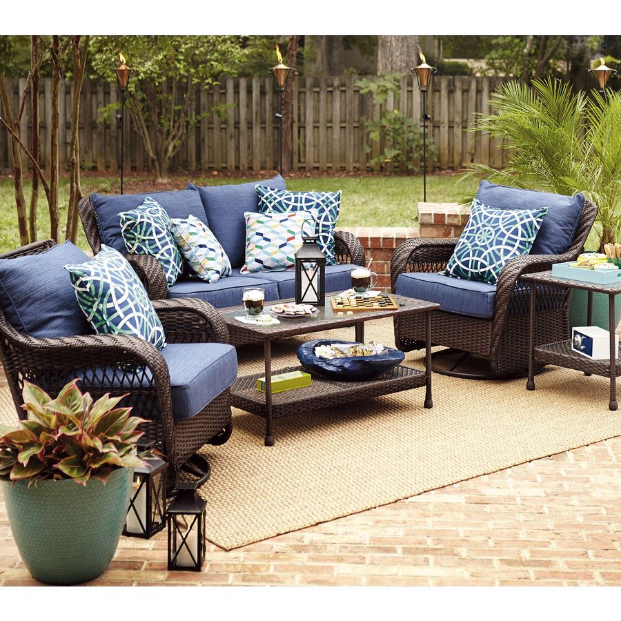 Cheryl Cable Within Camak Patio Sofas With Cushions (View 8 of 20)