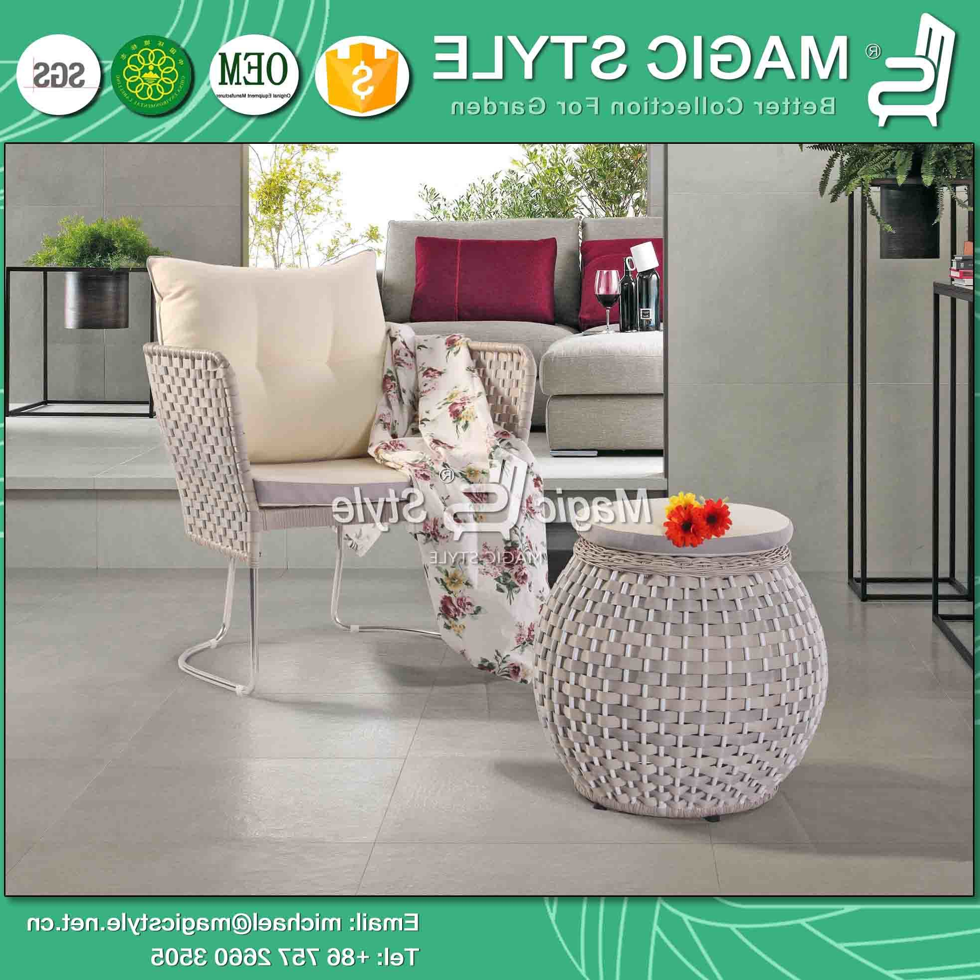 China Stainless Steel Sofa Garden Leisure Sofa Patio Sofa In 2020 Michal Patio Sofas With Cushions (View 4 of 20)