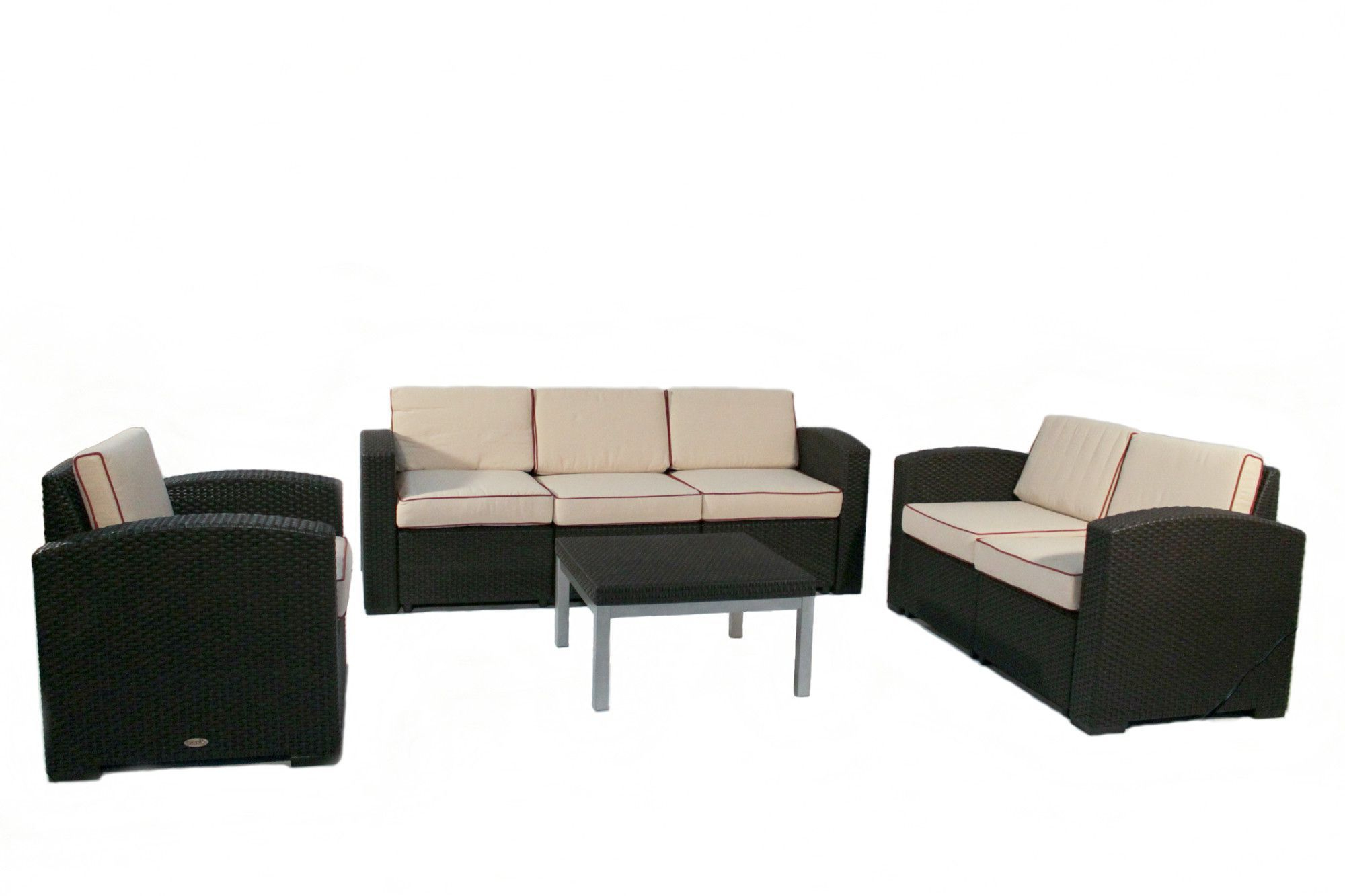 Cielo 4 Piece Seating Group With Cushion (View 4 of 20)