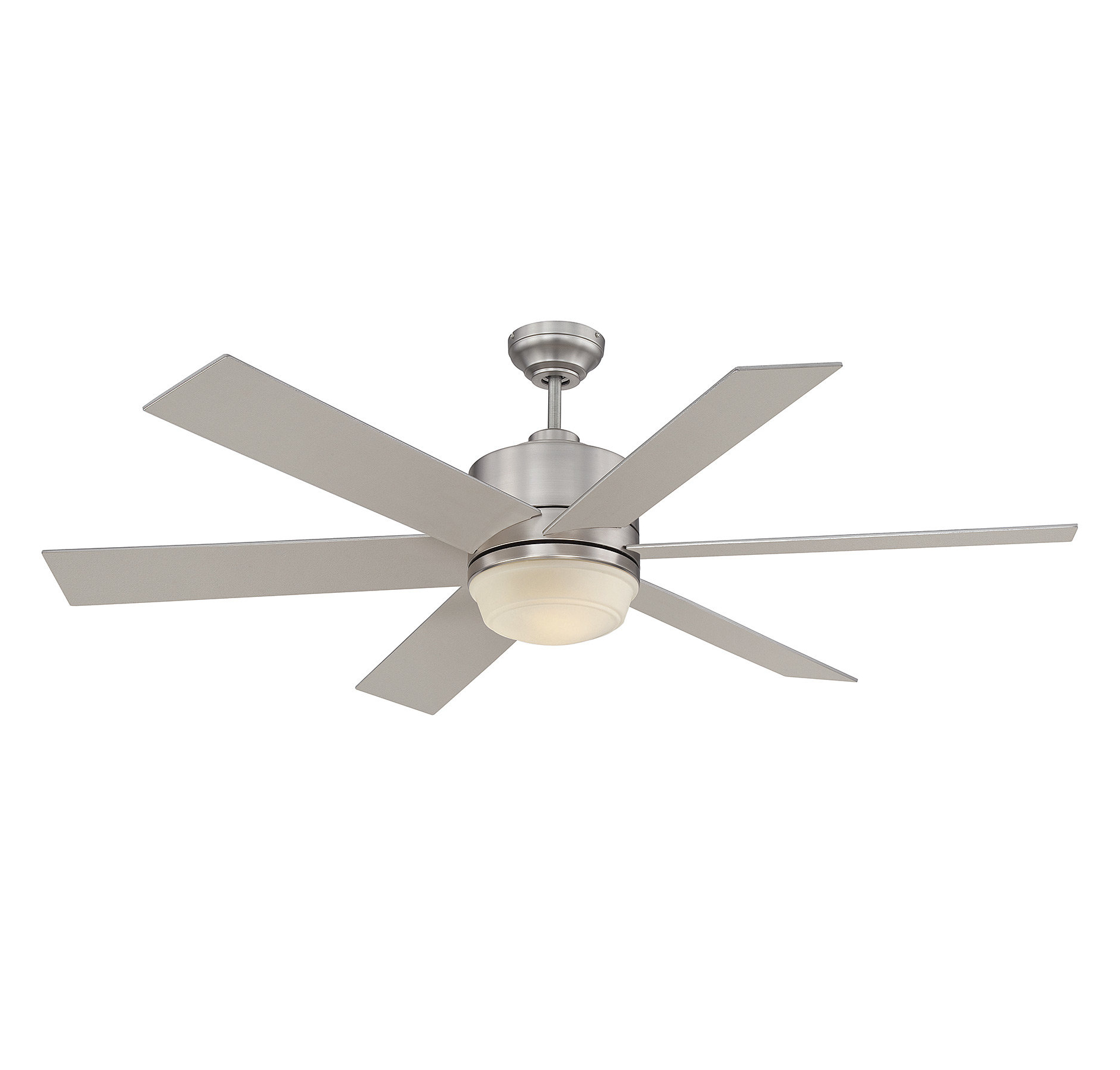 "Cillian 6 Blade Ceiling Fans With Regard To 2020 60"" Ayleen 6 Blade Ceiling Fan With Remote, Light Kit Included (View 10 of 20)"