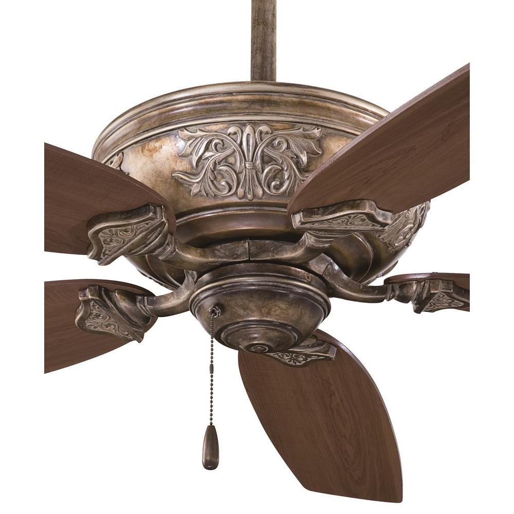 Classica 5 Blade Ceiling Fans Pertaining To 2019 Minka Aire Classica 54 In (View 19 of 20)