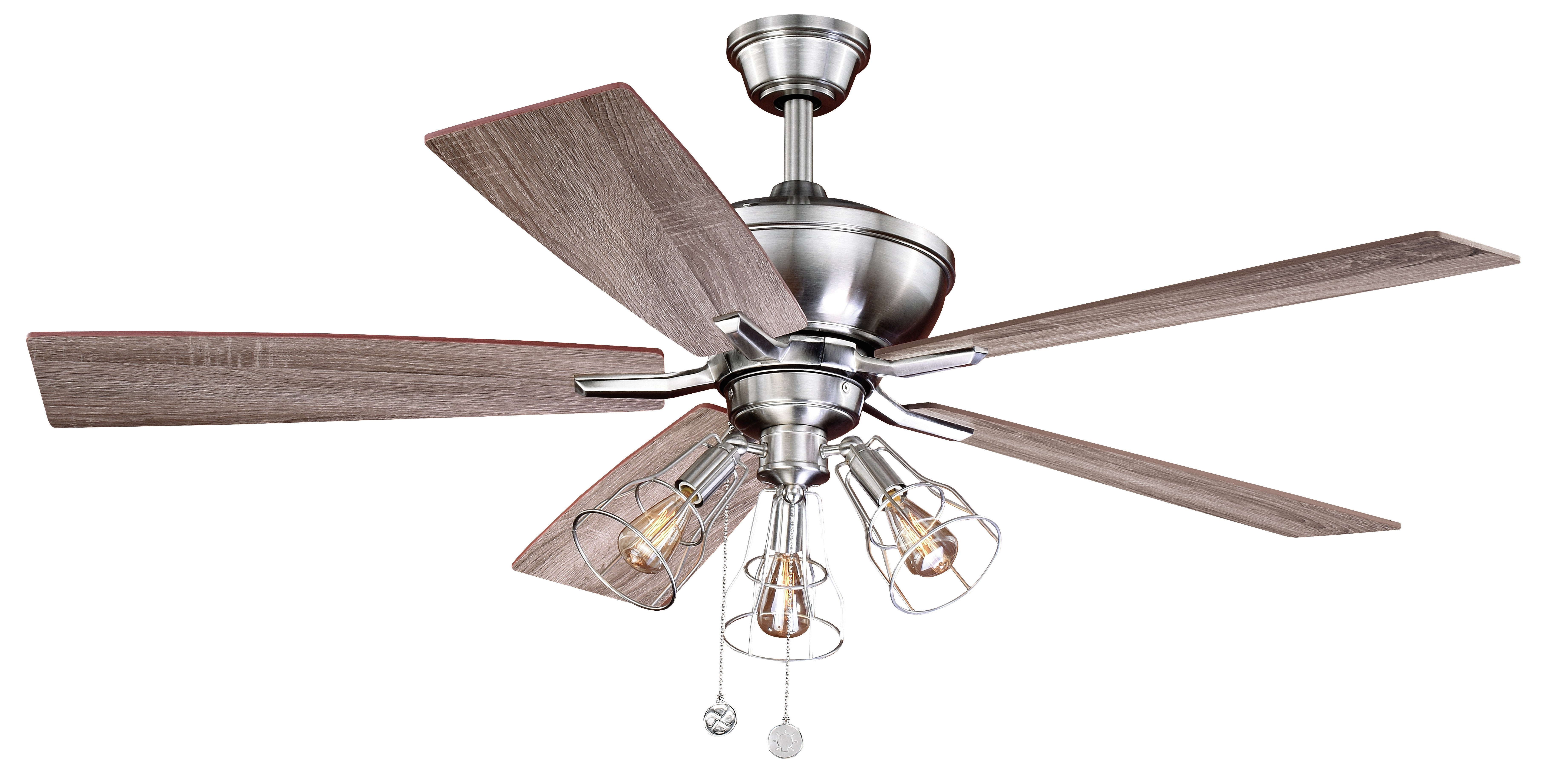 "Clybourn 5 Blade Ceiling Fans For Popular 52"" Clybourn 5 Blade Ceiling Fan (View 2 of 20)"