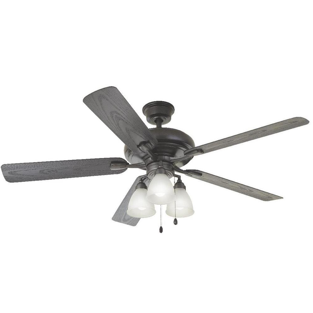 Clybourn 5 Blade Ceiling Fans With Regard To Best And Newest Home Decorators Collection Trentino Ii 60 In (View 8 of 20)