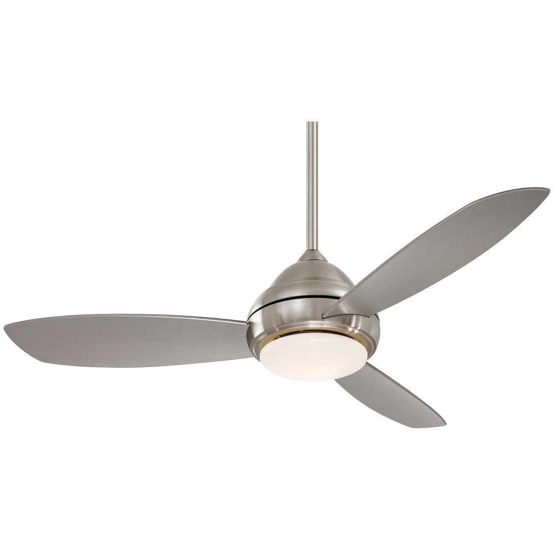 "Concept 3 Blade Led Ceiling Fans Throughout Recent Minkaaire Concept I 52 Led Concept I 52"" 3 Blade Indoor Ceiling Fan – Integrated Led Light Kit, Handheld Remote, And Blades (View 8 of 20)"